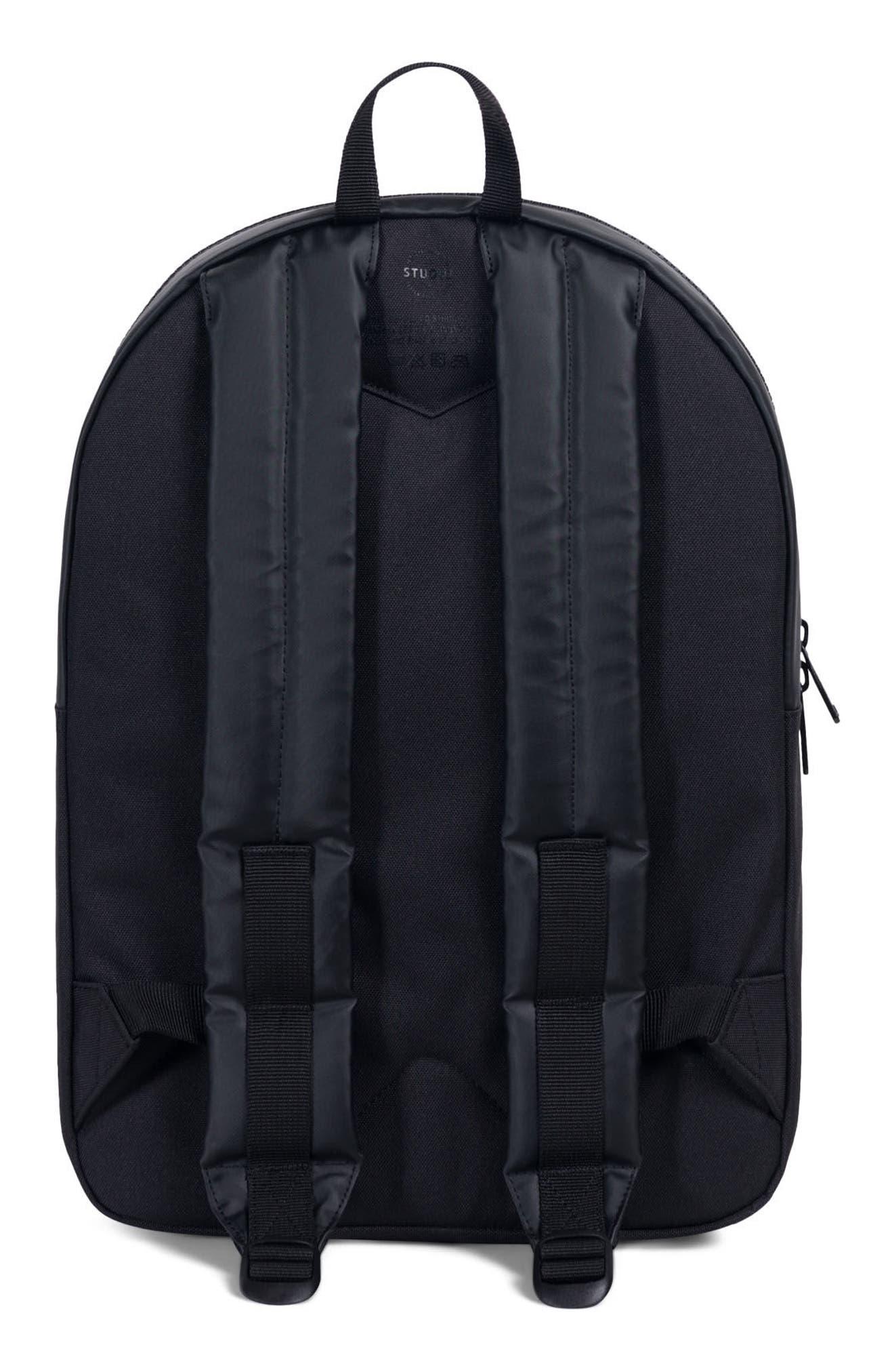 Winlaw Polycoat Studio Backpack,                             Alternate thumbnail 2, color,                             Black