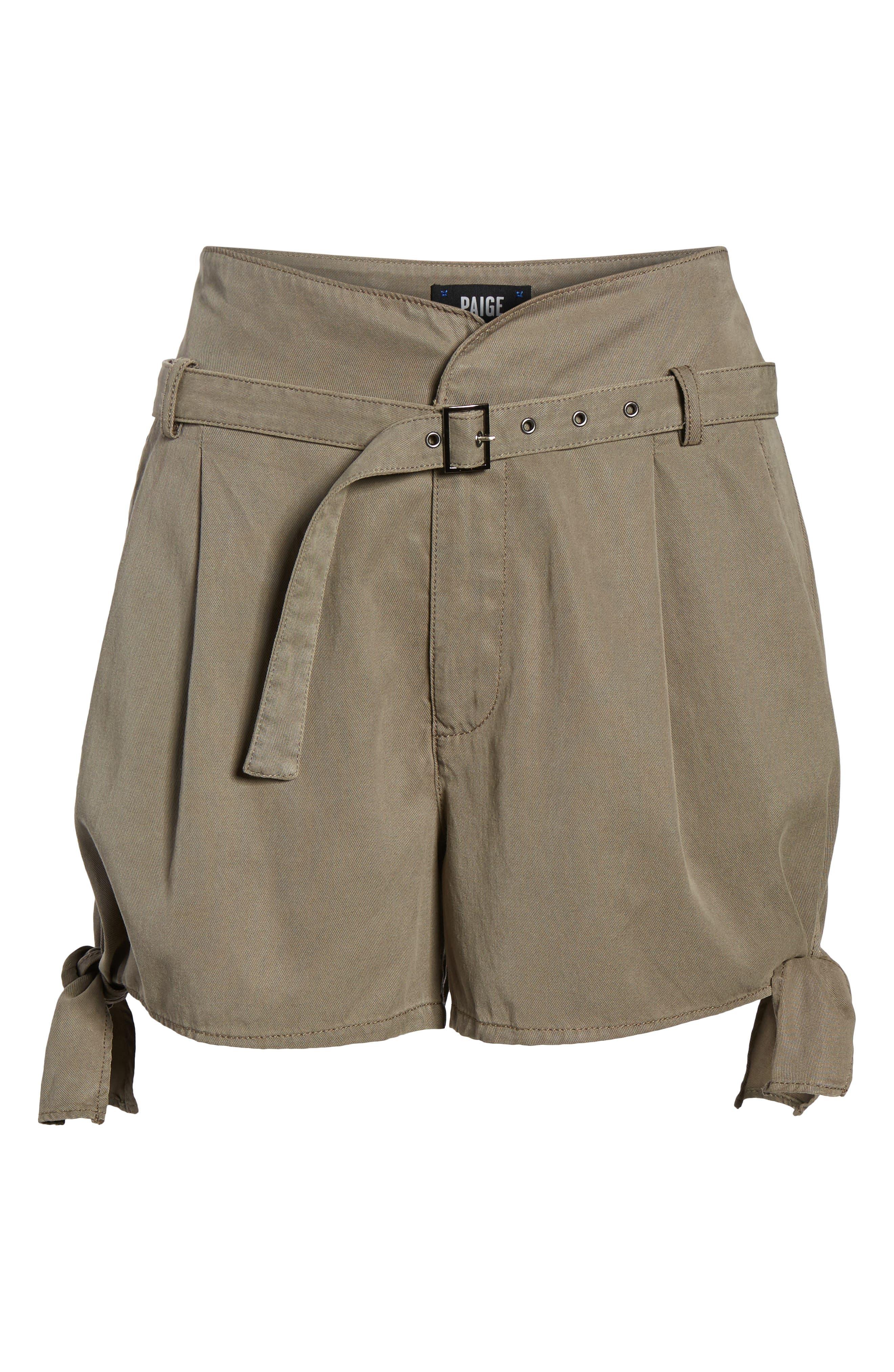 Alternate Image 6  - PAIGE Claudette Tie Hem Shorts