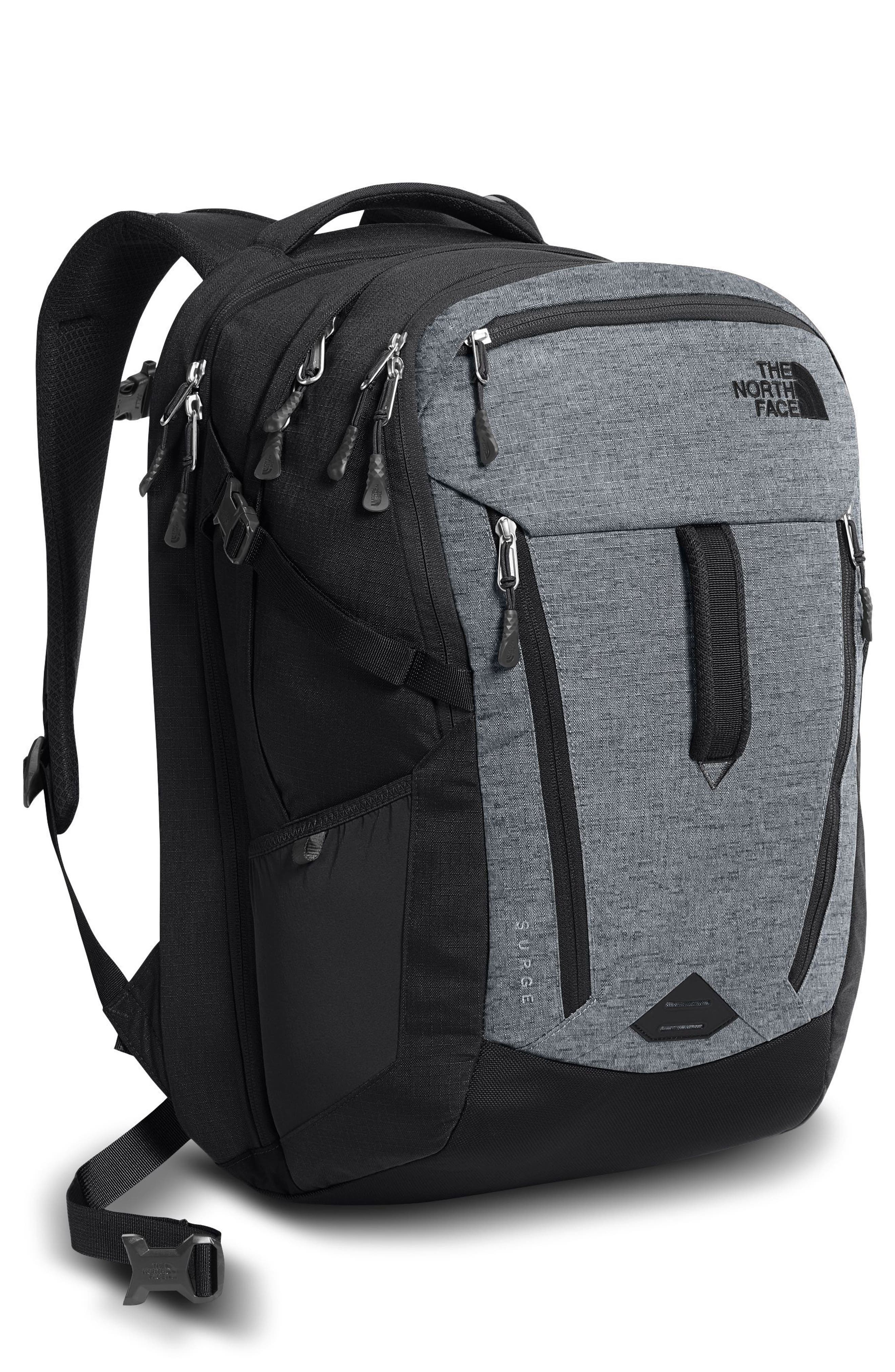 The North Face  'SURGE' BACKPACK - GREY