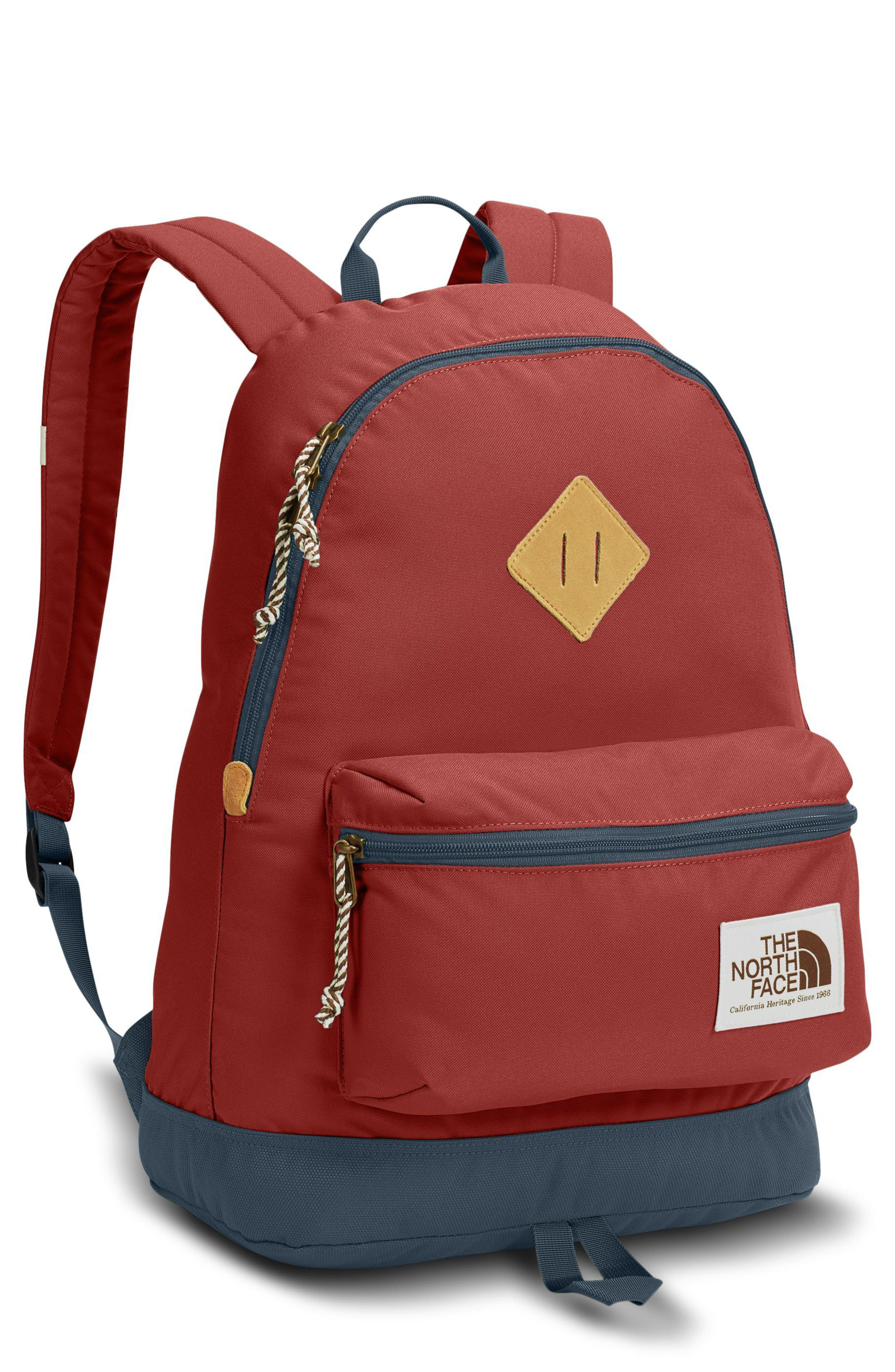 Berkeley Backpack,                         Main,                         color, Bossa Nova Red/ Conquer Blue