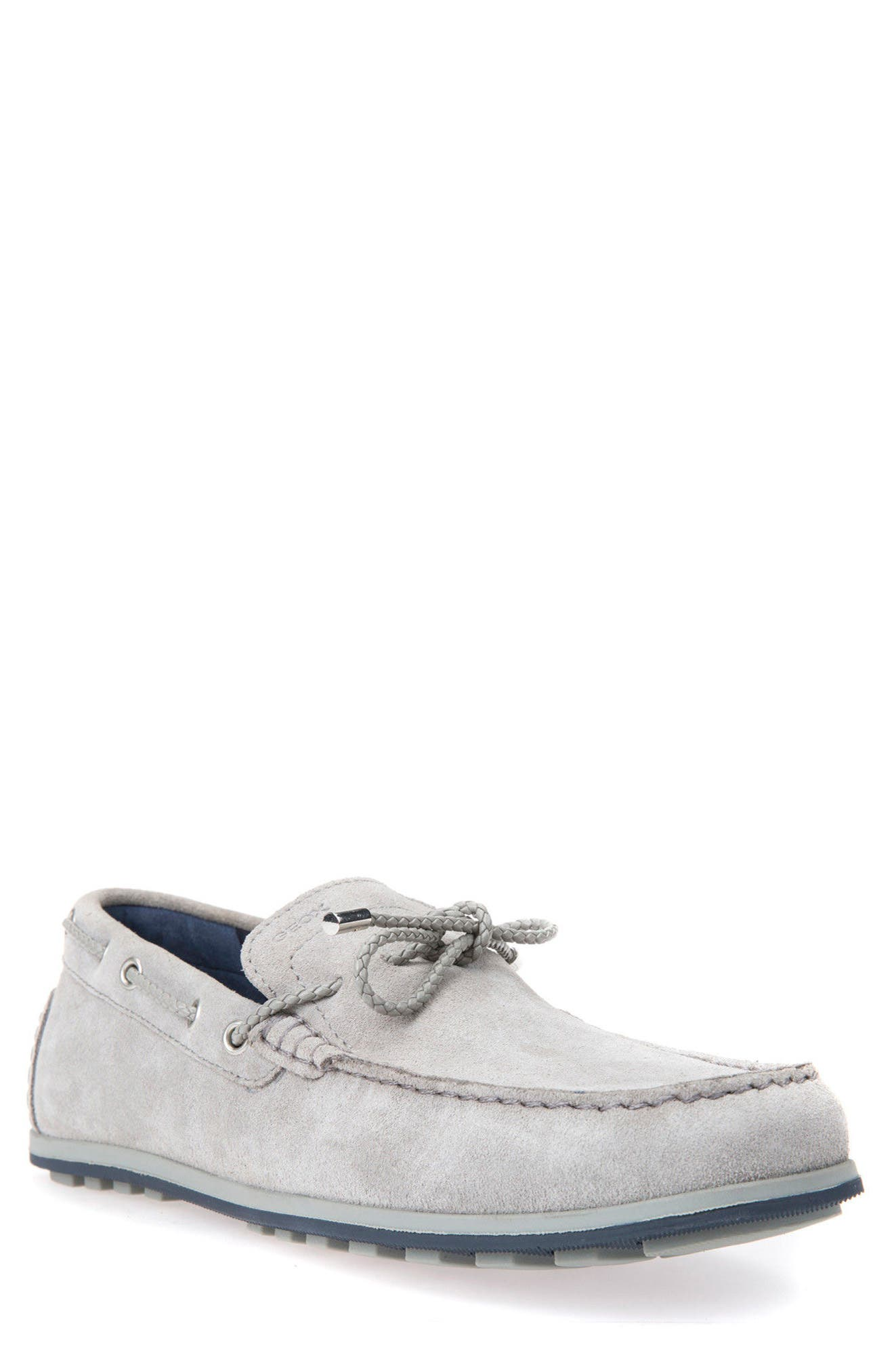 Mirvin 2 Boat Shoe,                             Main thumbnail 1, color,                             Stone Suede