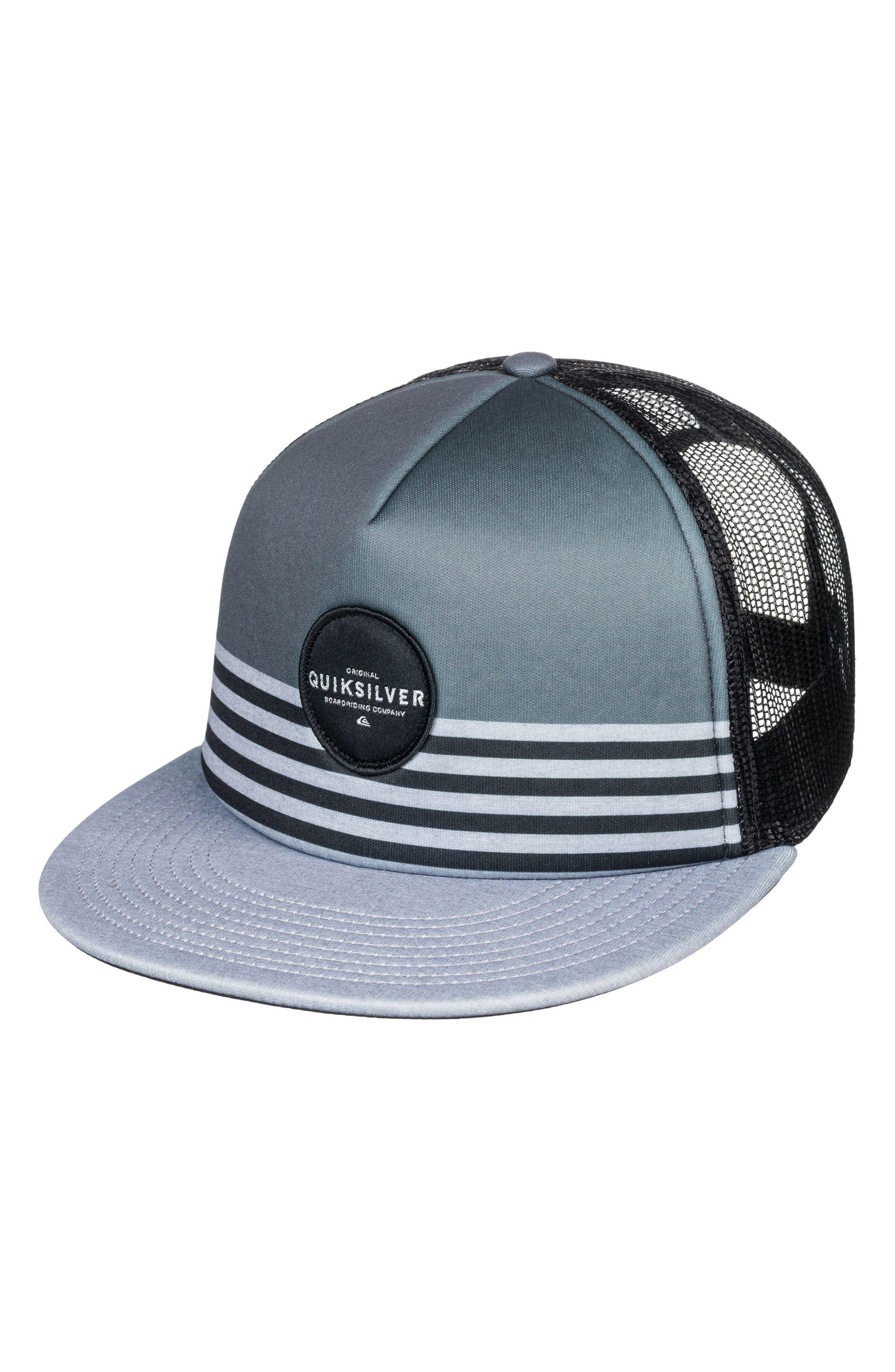 Vixten Trucker Hat,                         Main,                         color, Iron Gate