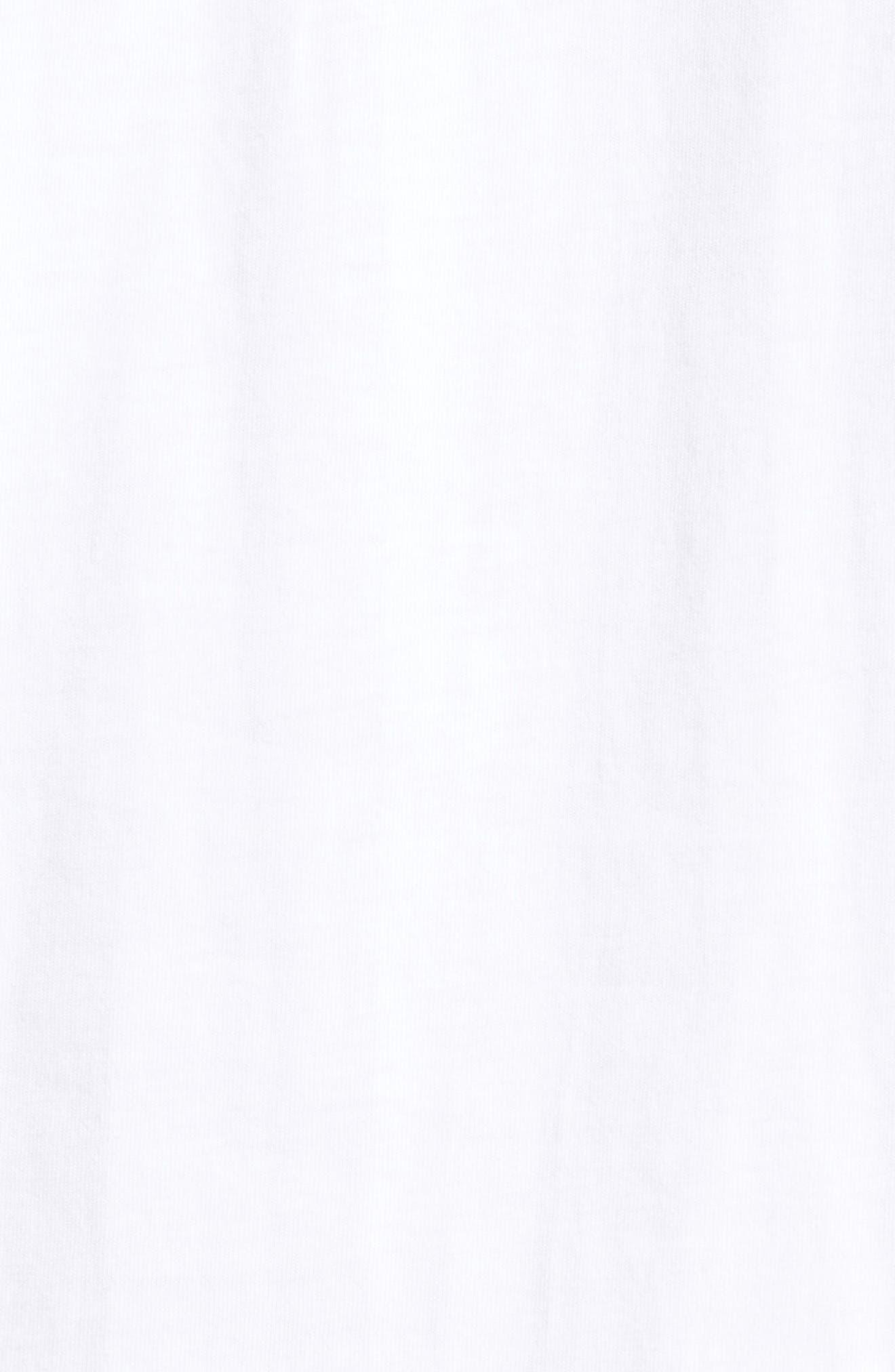 Camo Logo T-Shirt,                             Alternate thumbnail 5, color,                             White