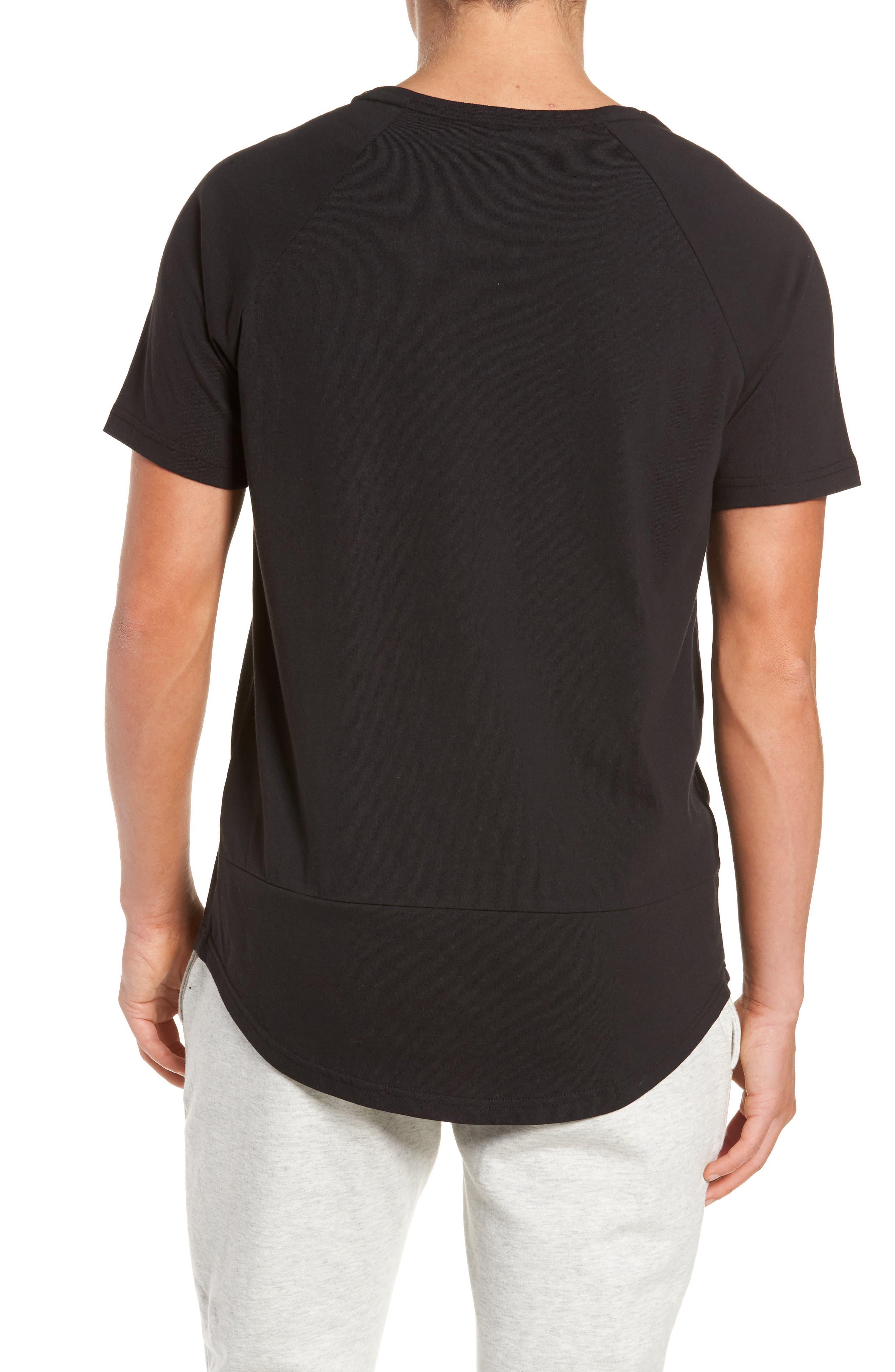 Camo Logo T-Shirt,                             Alternate thumbnail 2, color,                             Black