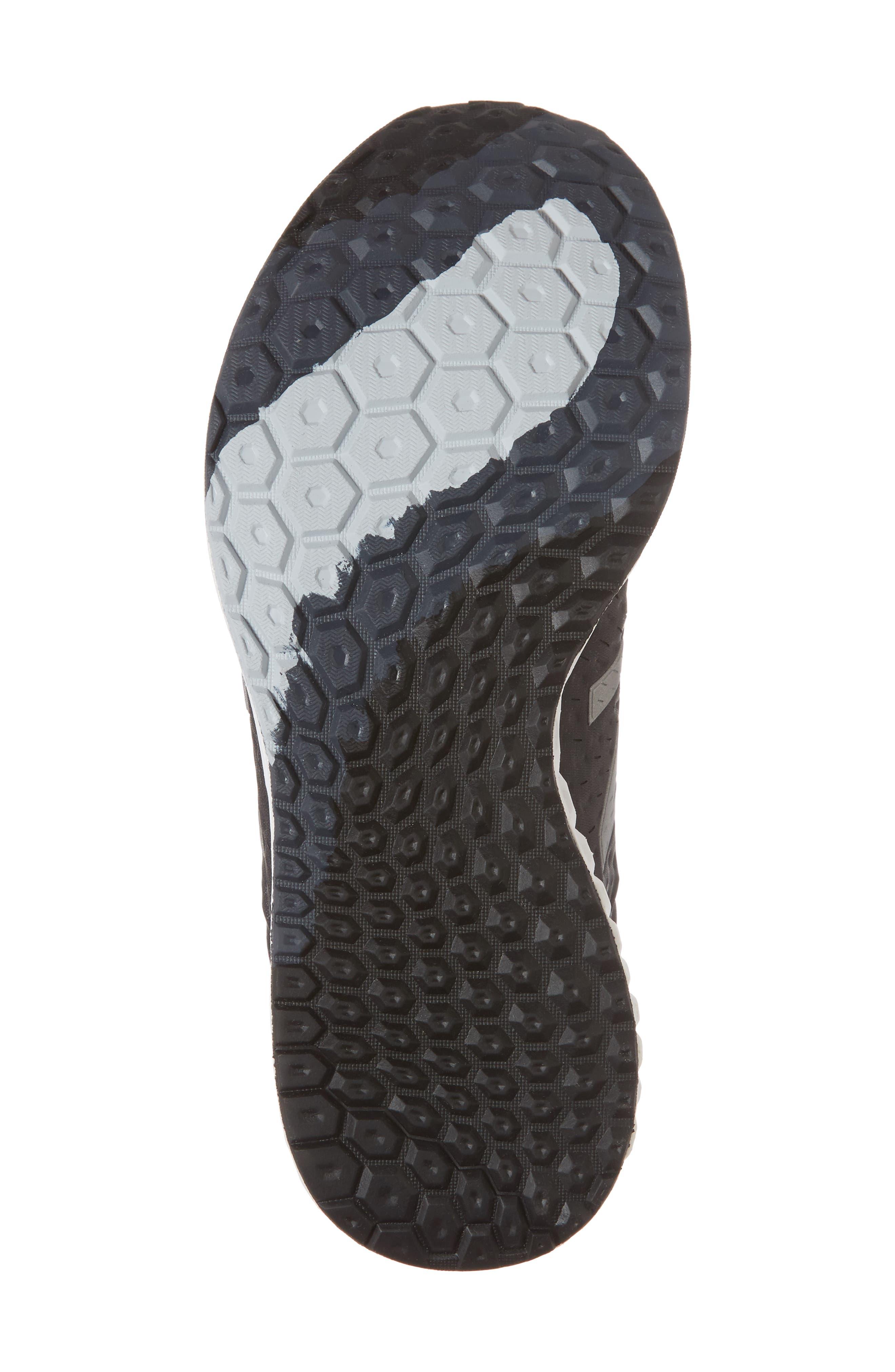 Fresh Foam Zante v4 Running Shoe,                             Alternate thumbnail 6, color,                             Black