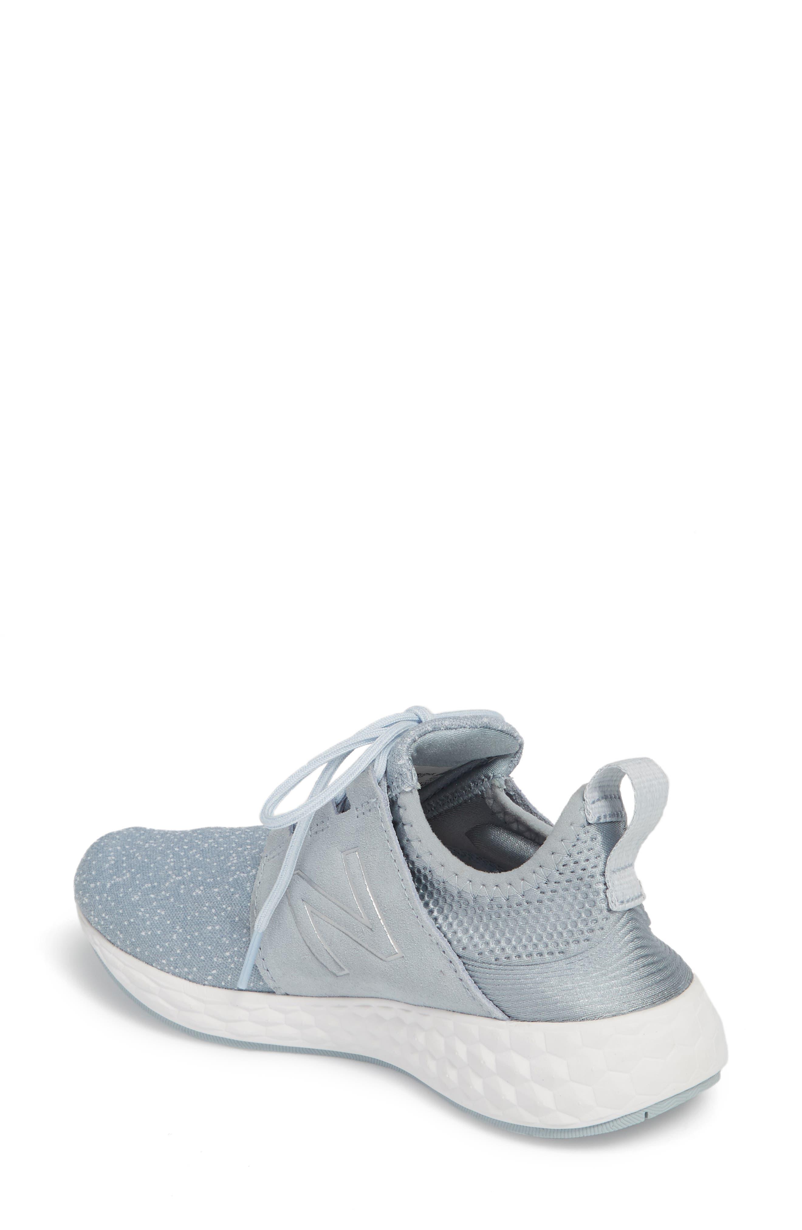 Fresh Foam Cruz Running Shoe,                             Alternate thumbnail 2, color,                             Light Slate