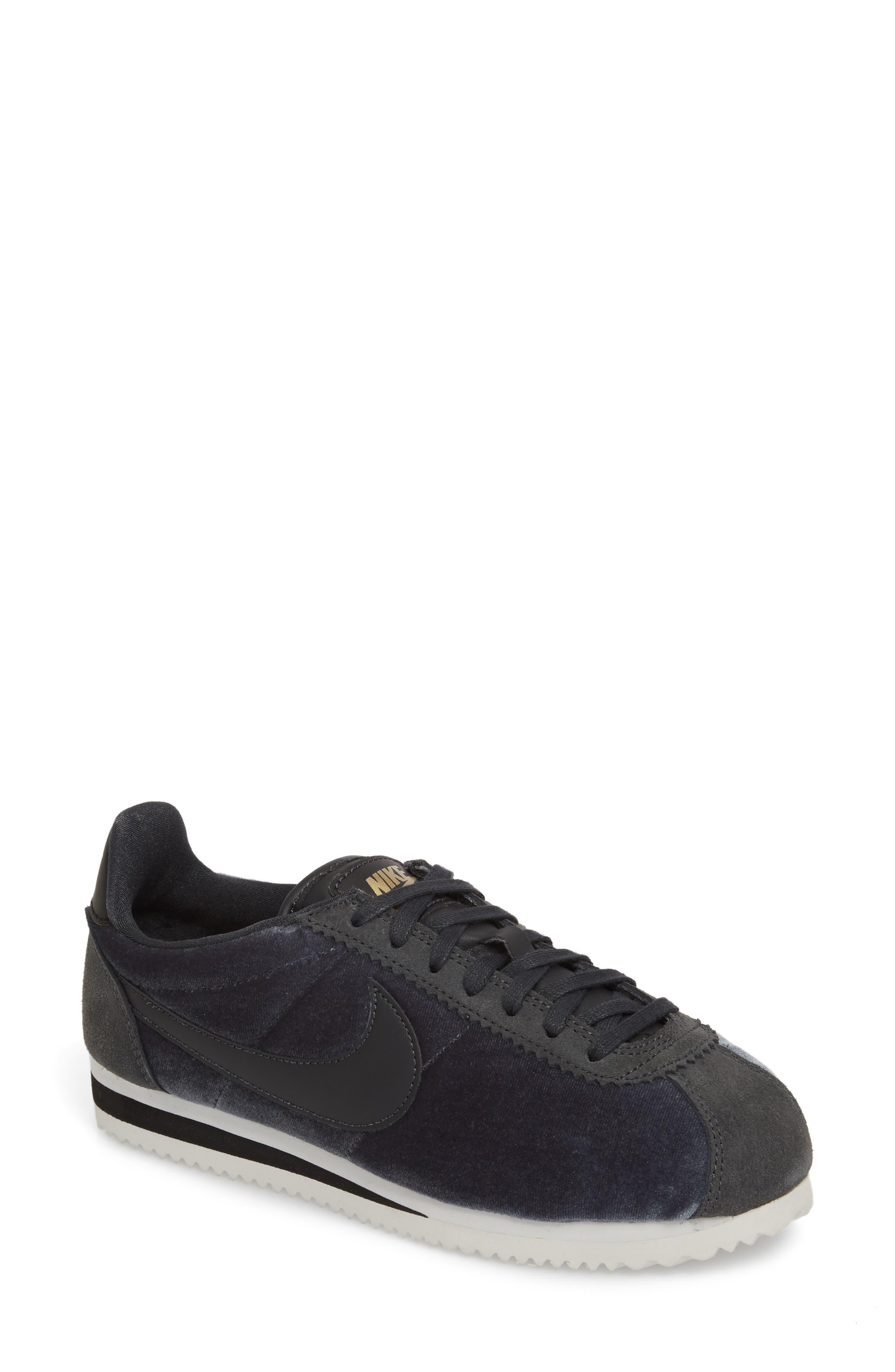 Alternate Image 1 Selected - Nike Classic Cortez SE Sneaker (Women)