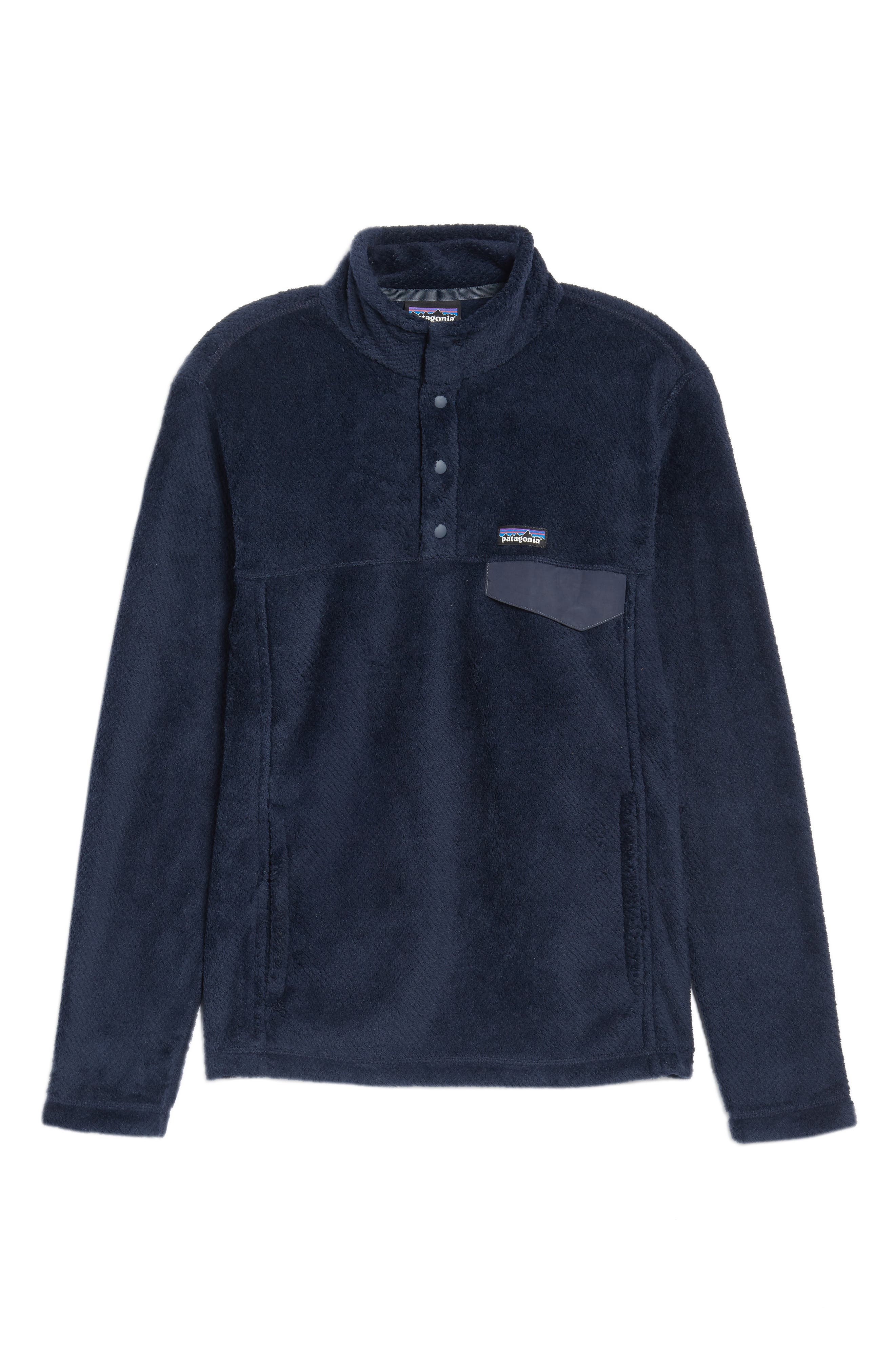 Re-Tool Snap-T<sup>®</sup> Pullover,                             Alternate thumbnail 6, color,                             Navy Blue X-Dye