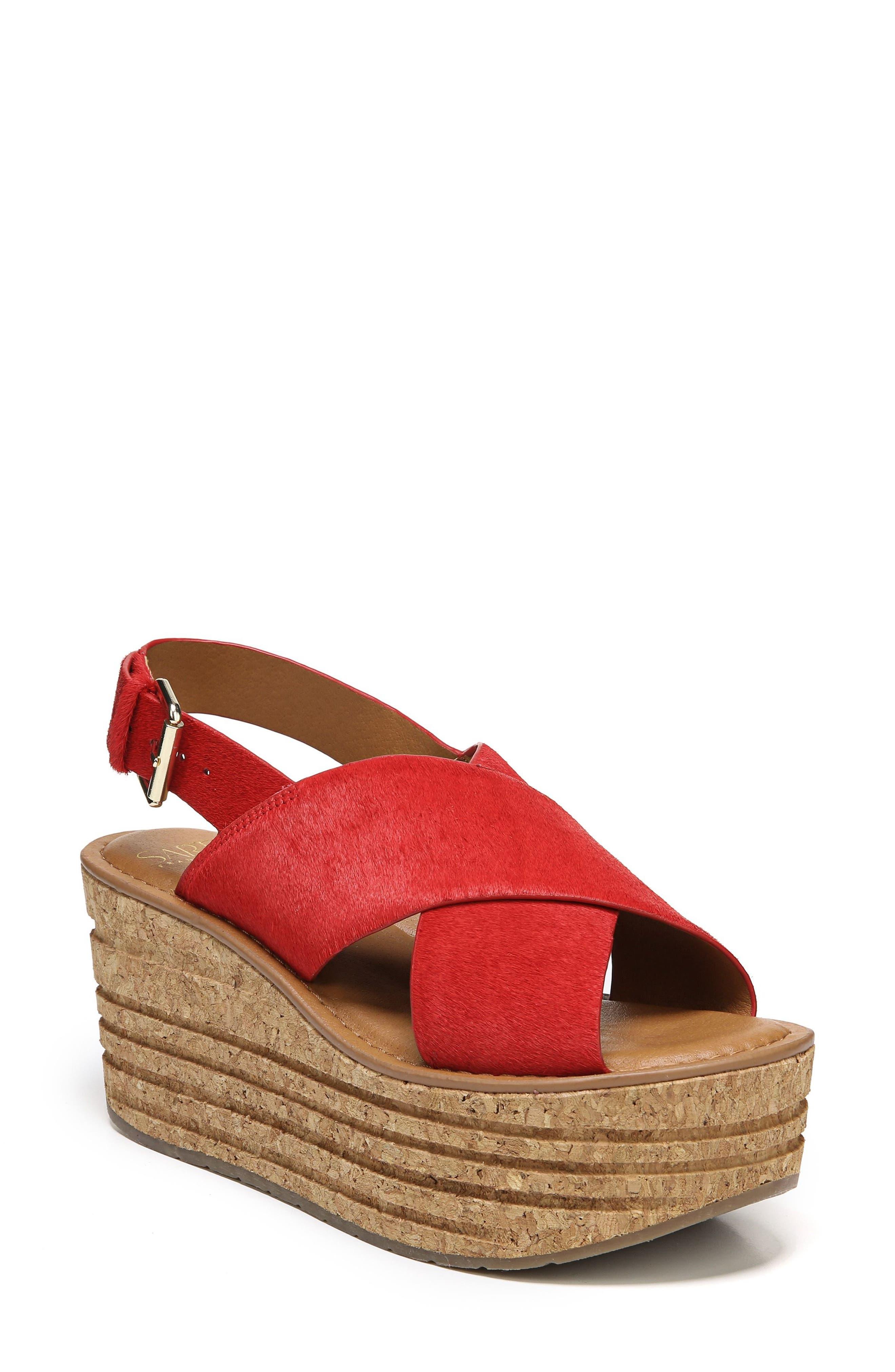 SARTO by Franco Sarto Caroline Platform Wedge Sandal (Women)
