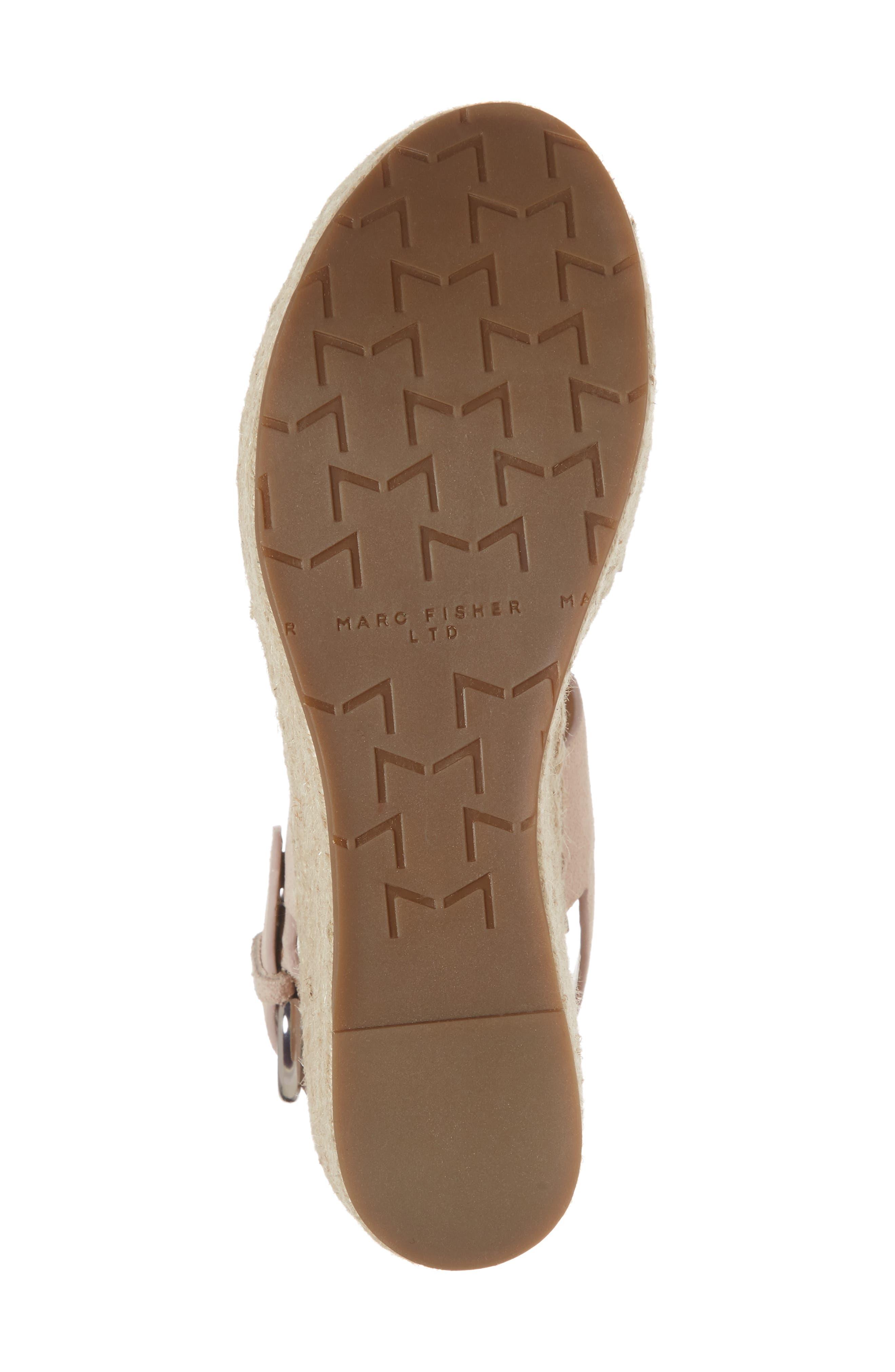Alternate Image 6  - Marc Fisher LTD Renni Espadrille Platform Wedge Sandal (Women)