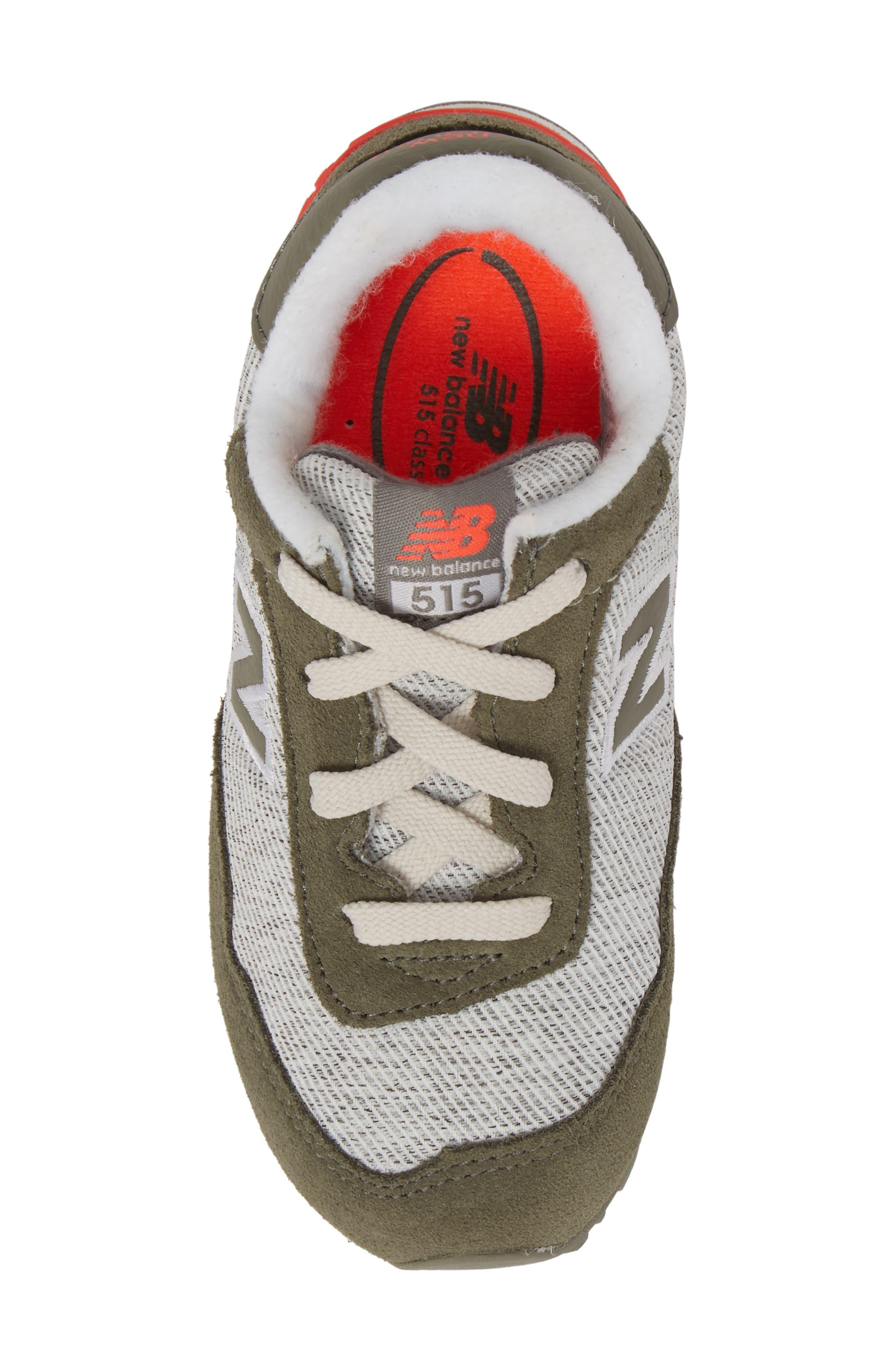 515 Sneaker,                             Alternate thumbnail 5, color,                             Green