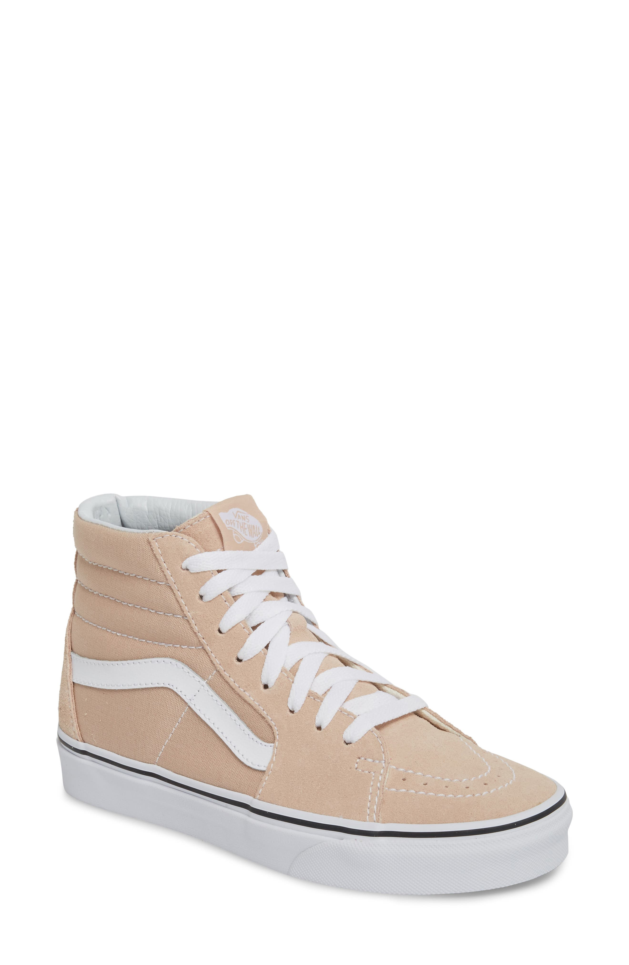 'Sk8-Hi Slim' Sneaker,                             Main thumbnail 1, color,                             Frappe/ True White