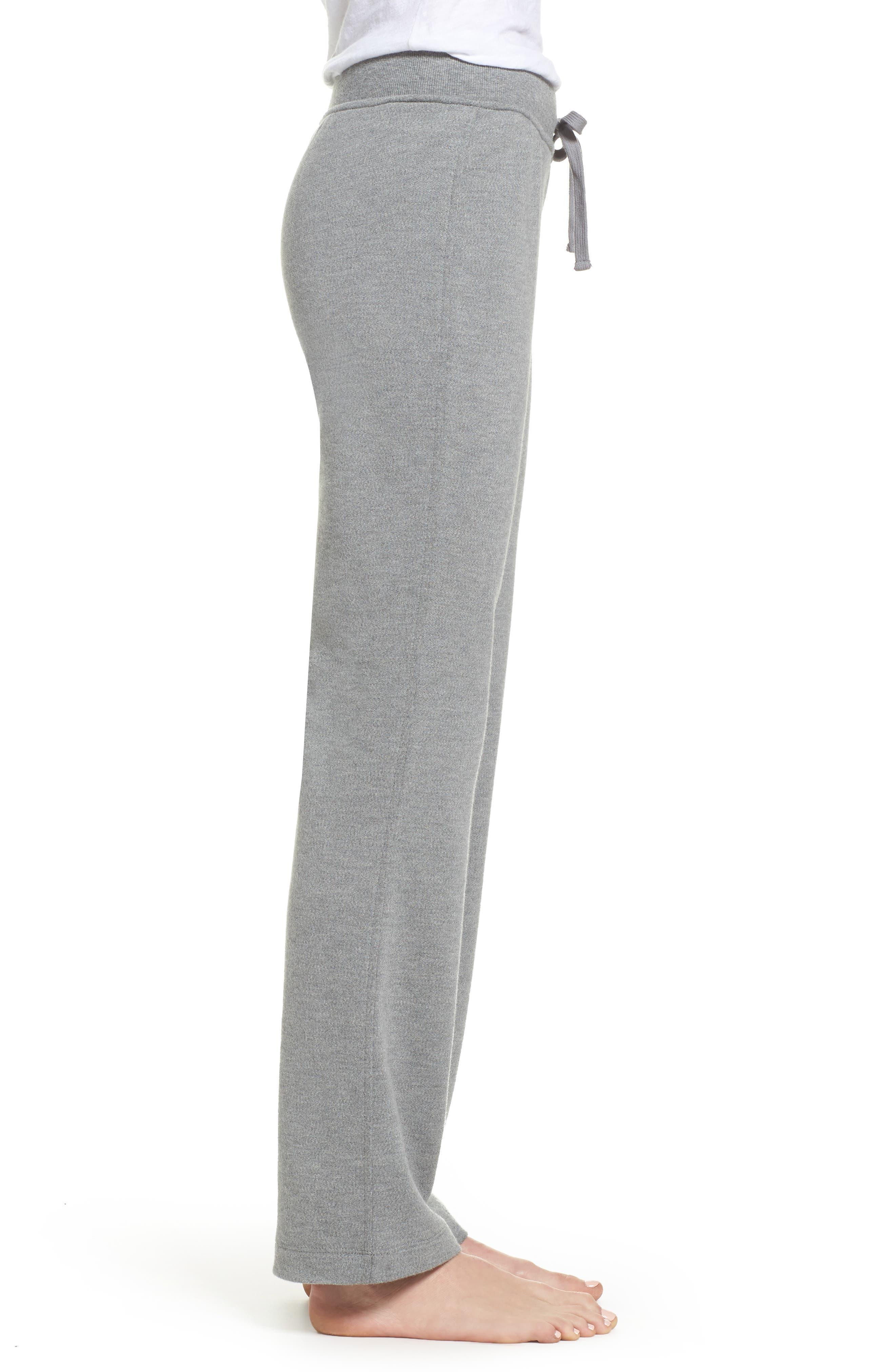 Penny Lounge Pants,                             Alternate thumbnail 3, color,                             Grey Heather