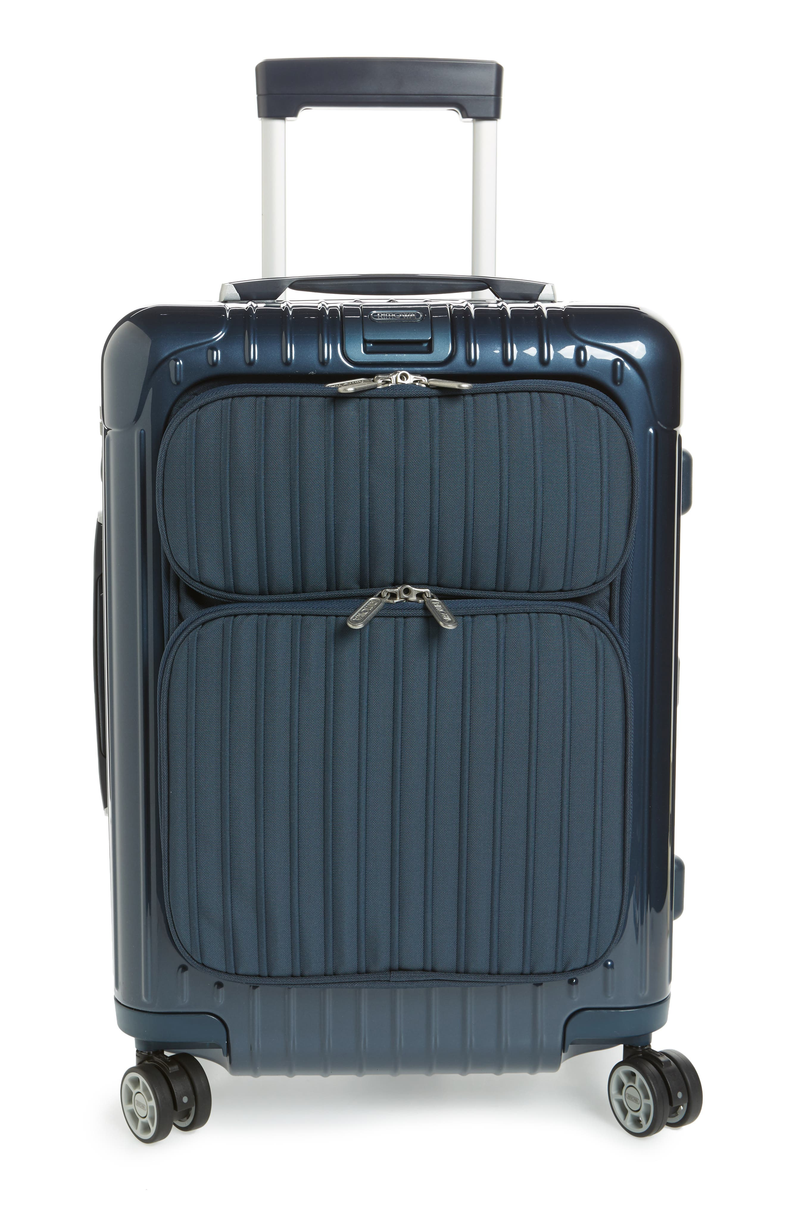 Good RIMOWA Salsa Deluxe Cabin Multiwheel Carry On   Blue, Yachting Blue