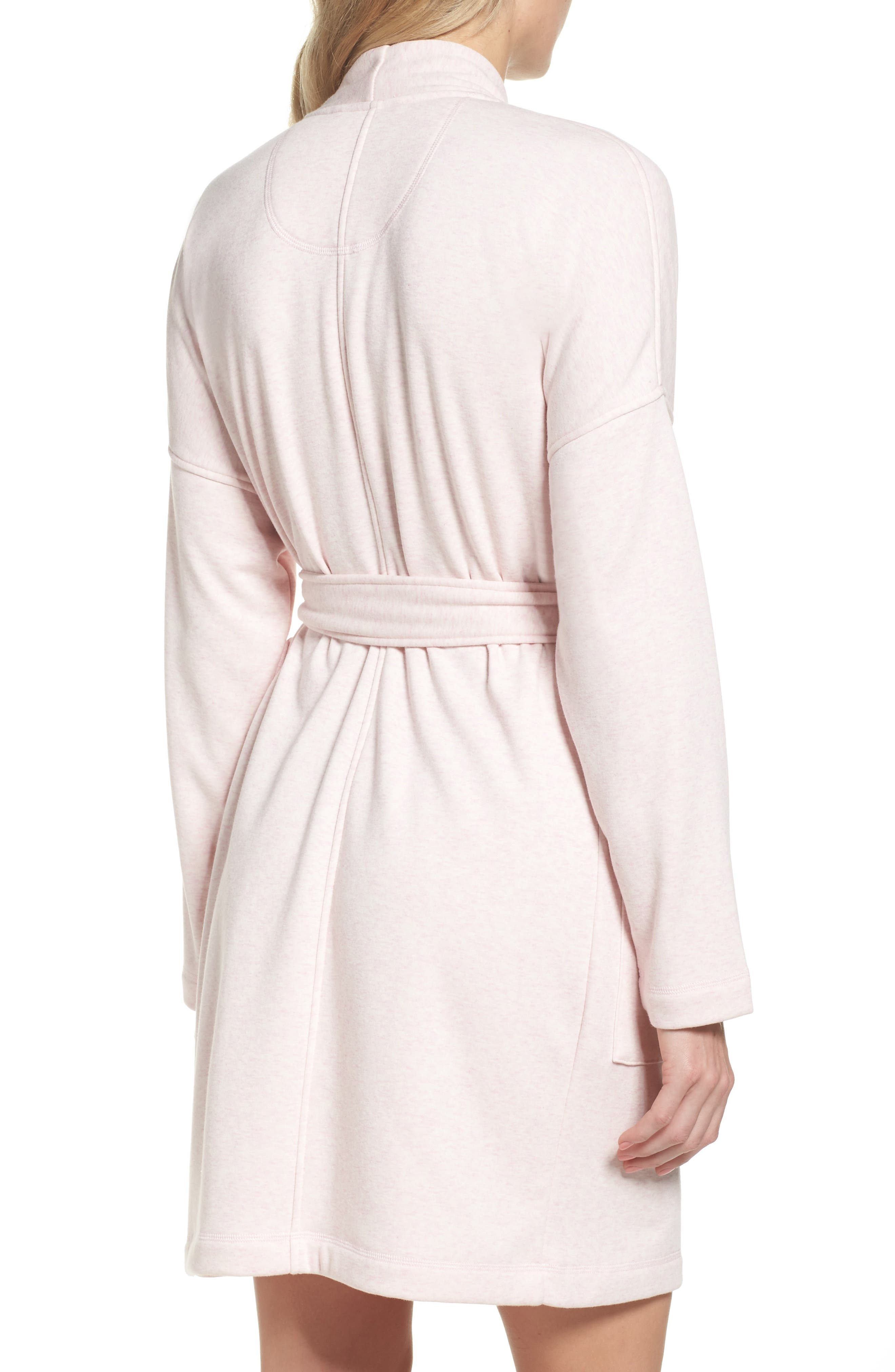 Braelyn Robe,                             Alternate thumbnail 2, color,                             Seashell Pink Heather