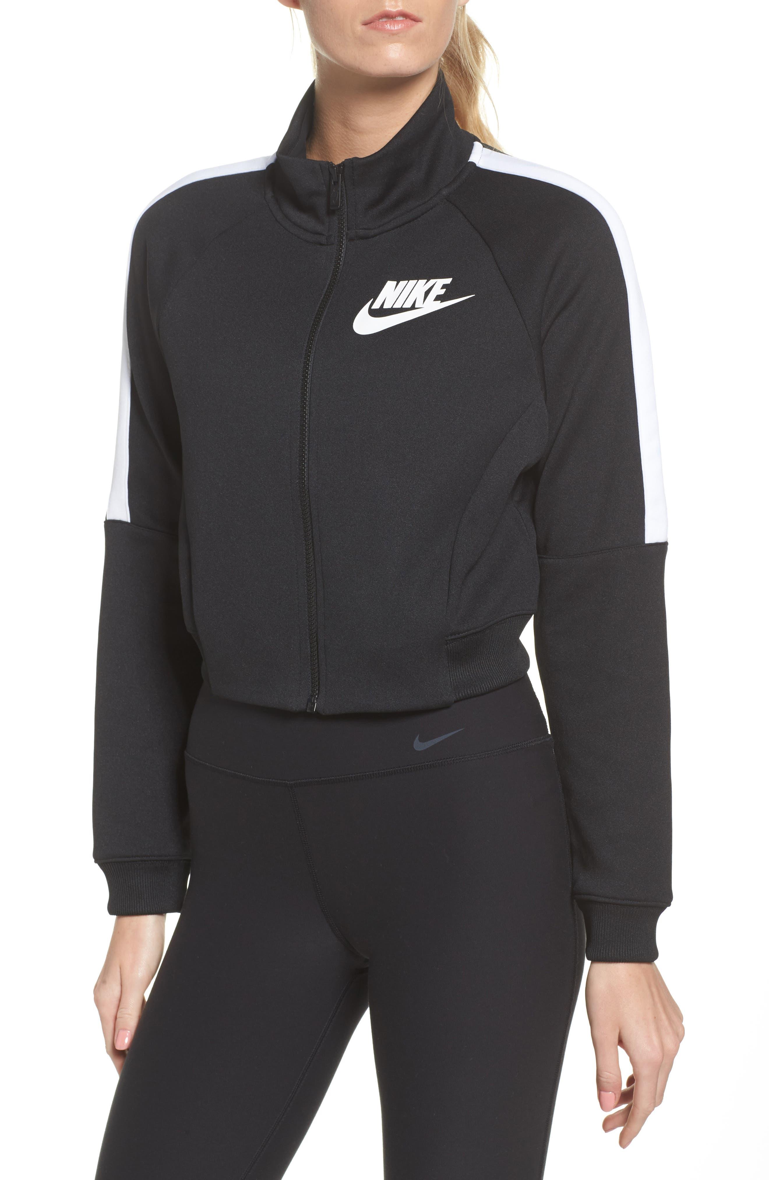 Sportswear N98 Jacket,                             Alternate thumbnail 4, color,                             Black/ White