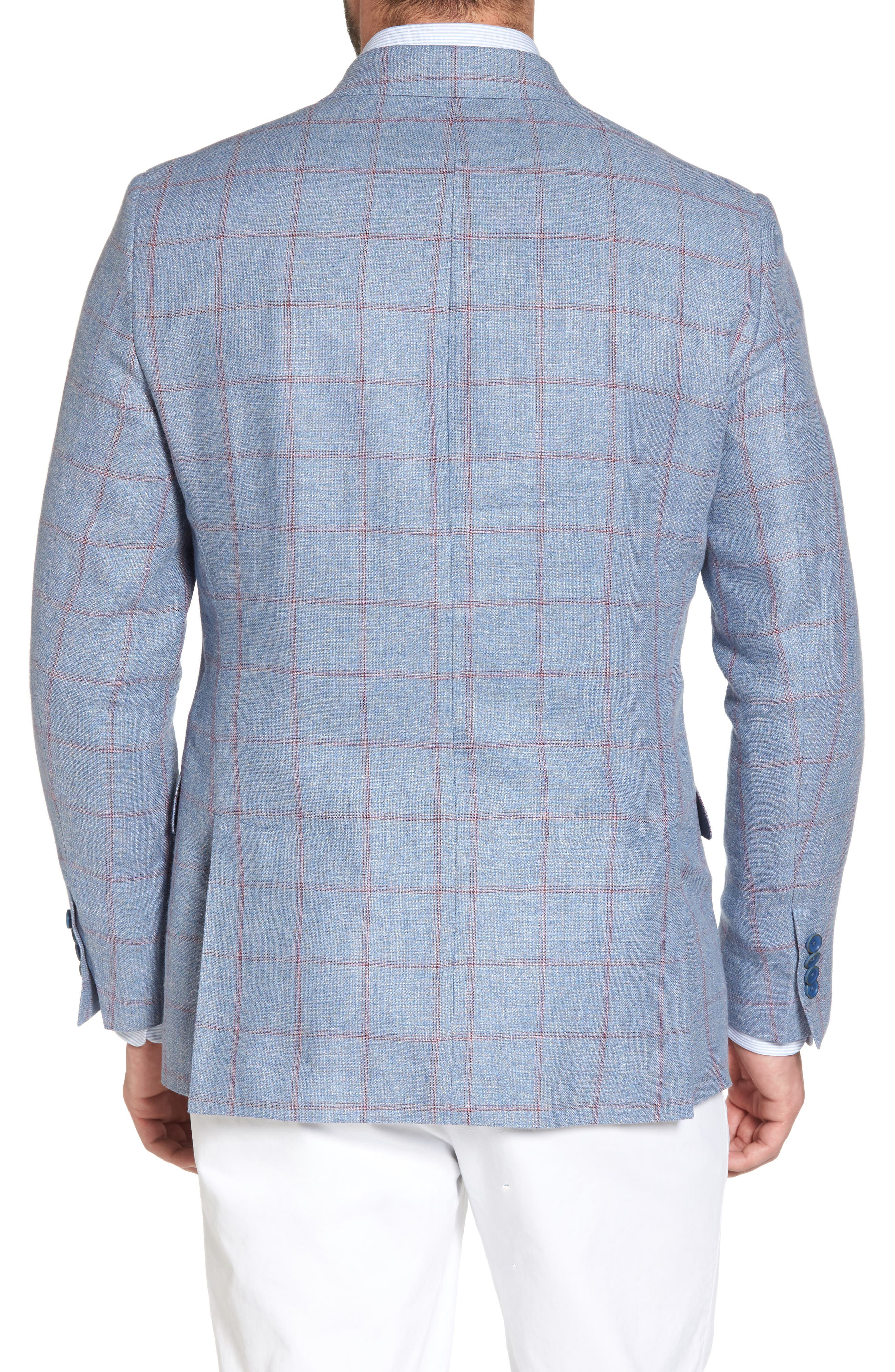 Alternate Image 2  - Hart Schaffner Marx Classic Fit Check Sport Coat