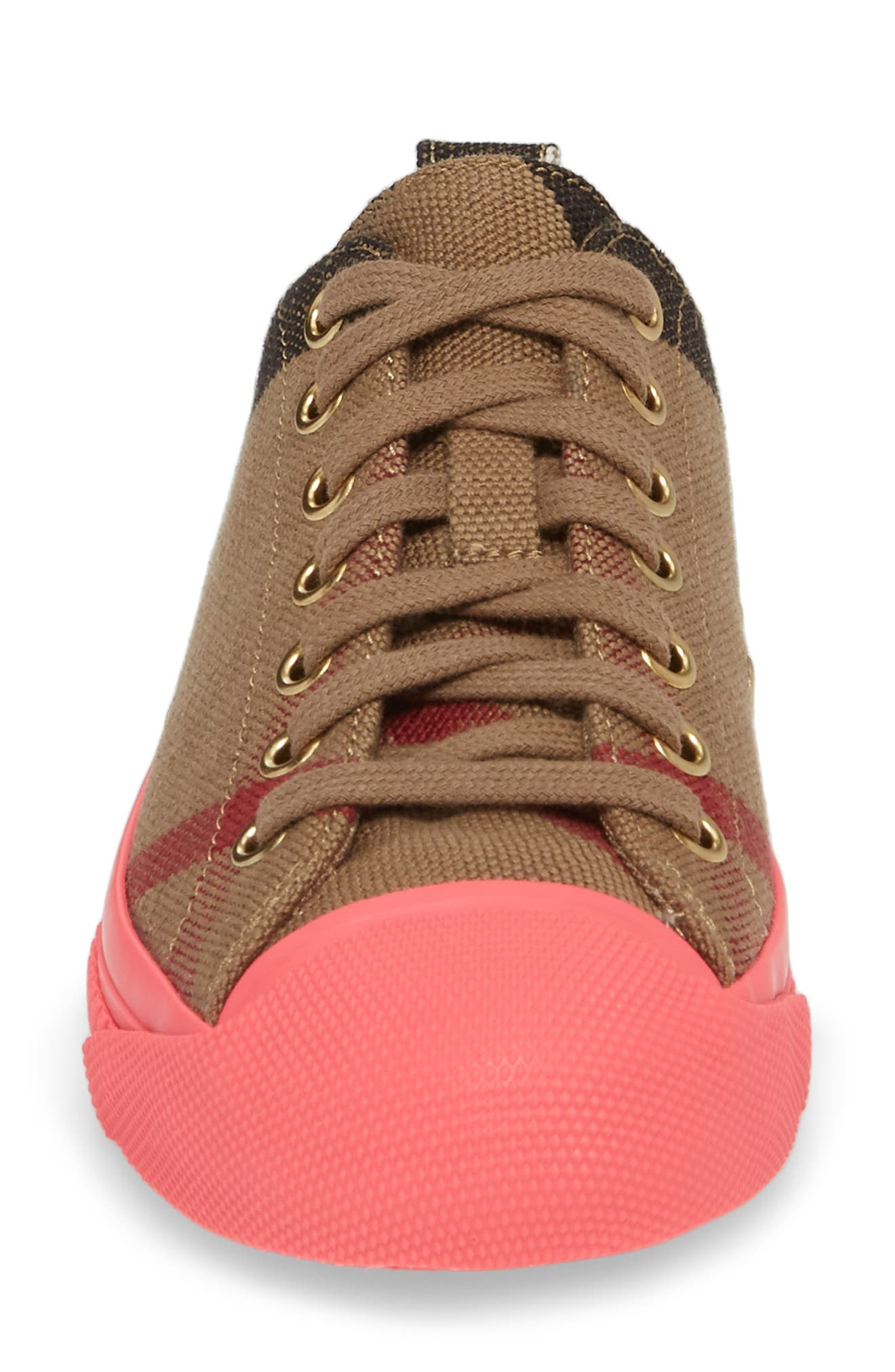 Bourne Sneaker,                             Alternate thumbnail 4, color,                             Classic Check