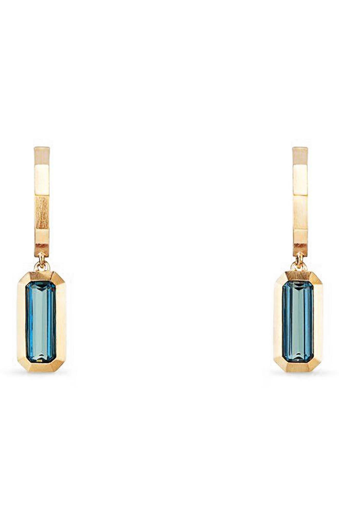 David Yurman Novella Hoop Earrings in 18K Gold
