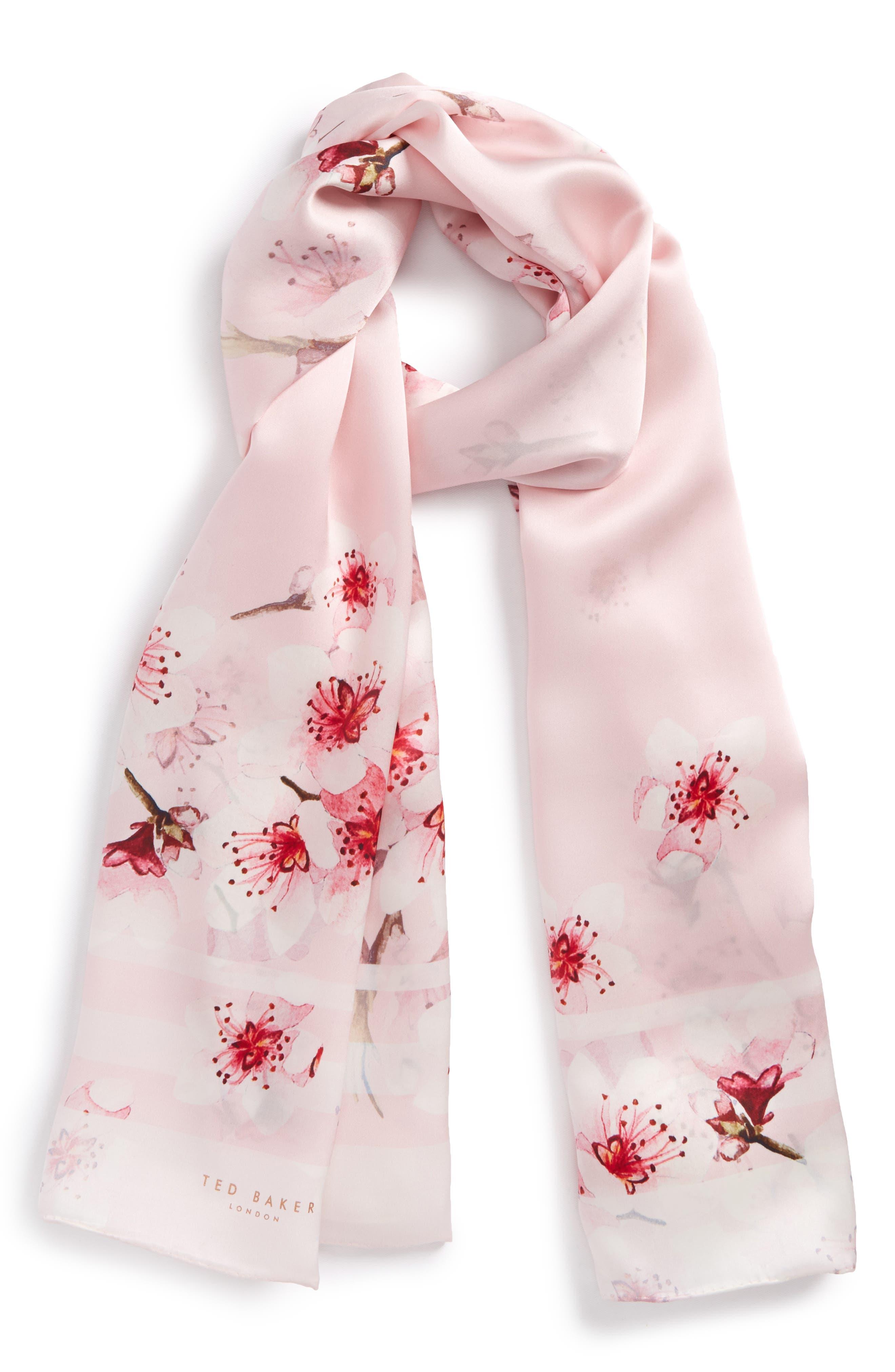 Ted Baker London Soft Blossom Silk Scarf