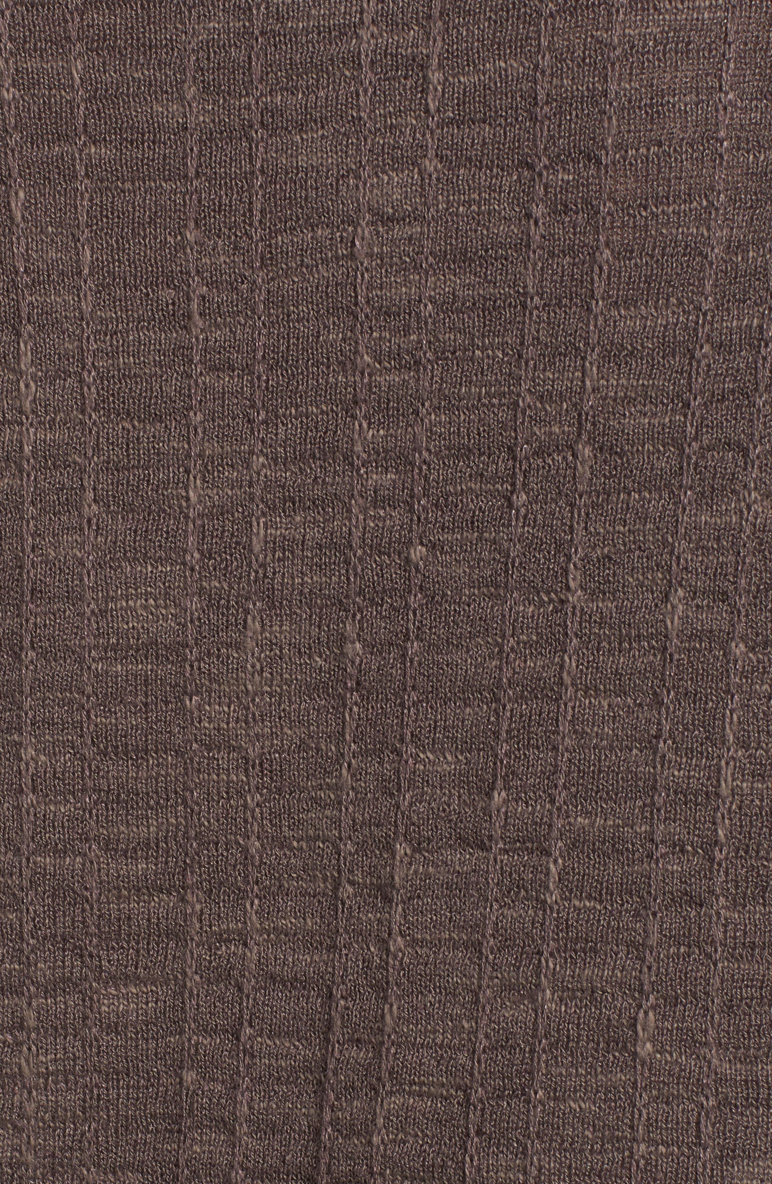 Organic Linen & Cotton Sweater,                             Alternate thumbnail 5, color,                             Rye