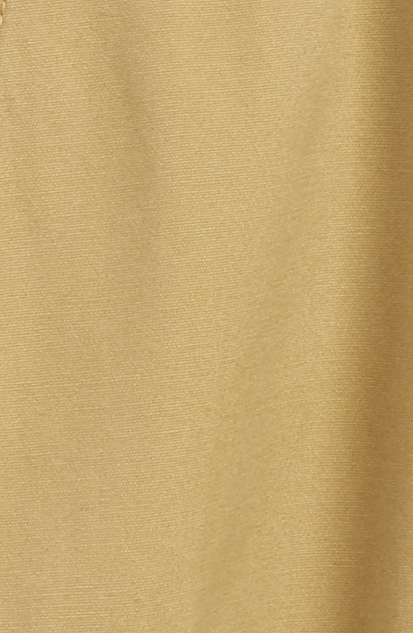 Ribbed Waist Utility Shorts,                             Alternate thumbnail 3, color,                             Tan Kelp