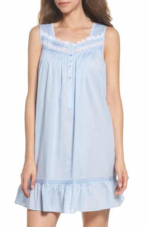 Eileen West Cotton Blend Chemise