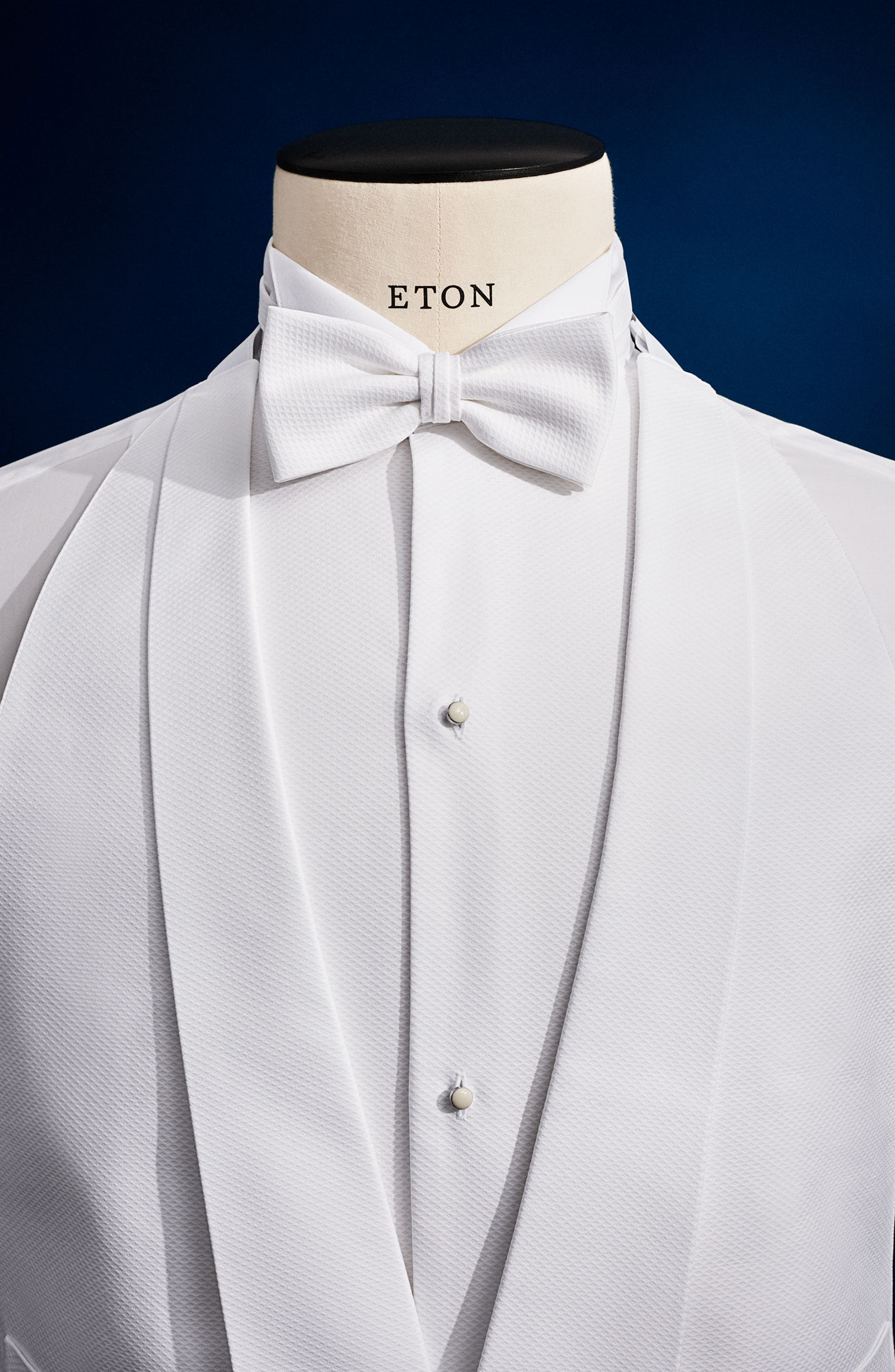 Solid Formal Vest,                             Alternate thumbnail 2, color,                             White