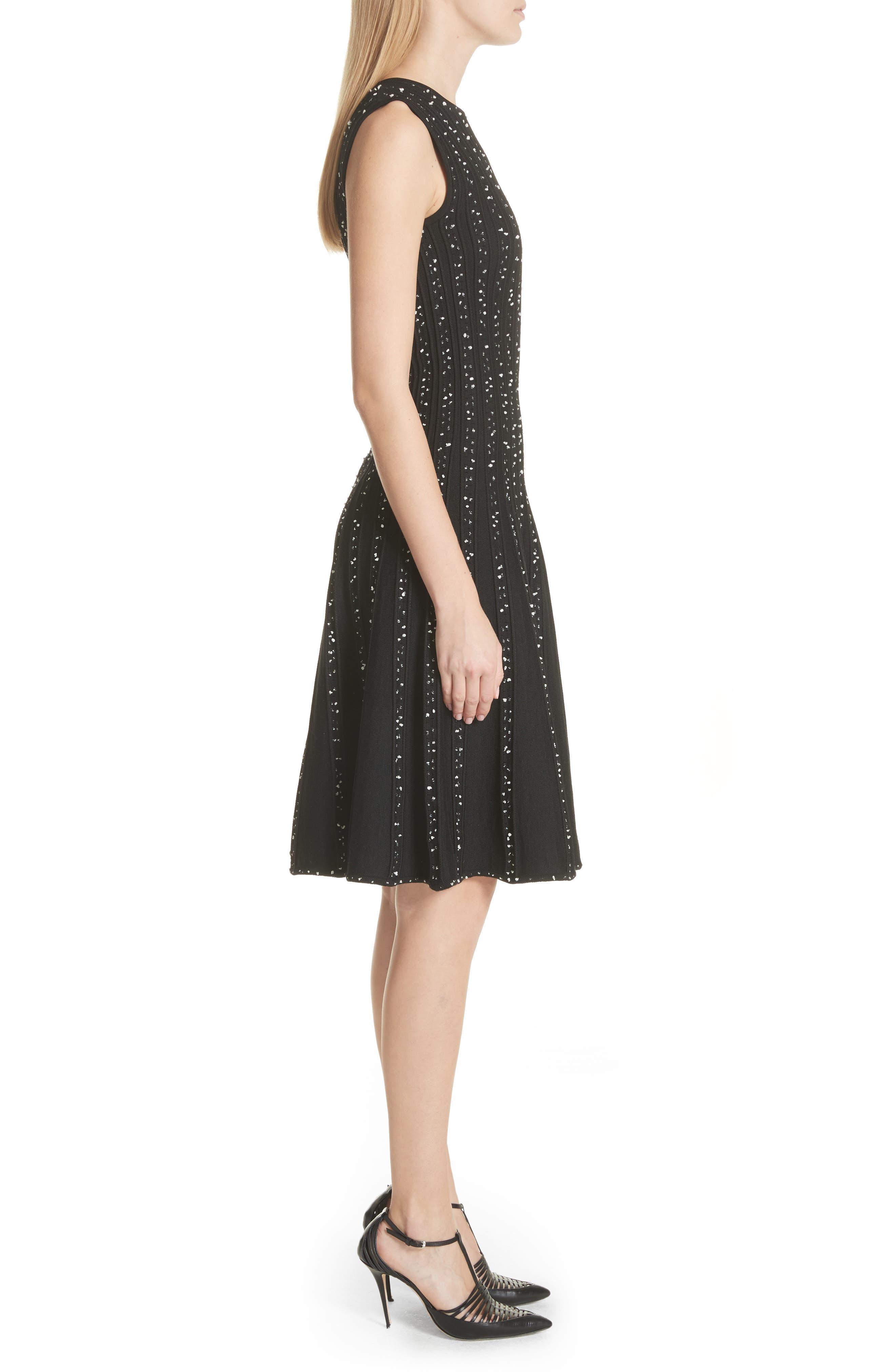 Alternate Image 3  - Jason Wu Polka Dot Wool Blend Fit & Flare Dress