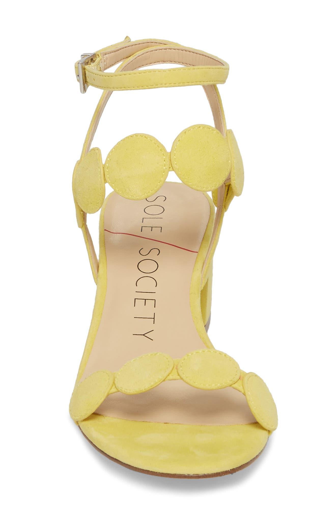 Alternate Image 4  - Sole Society Shea Block Heel Sandal (Women)