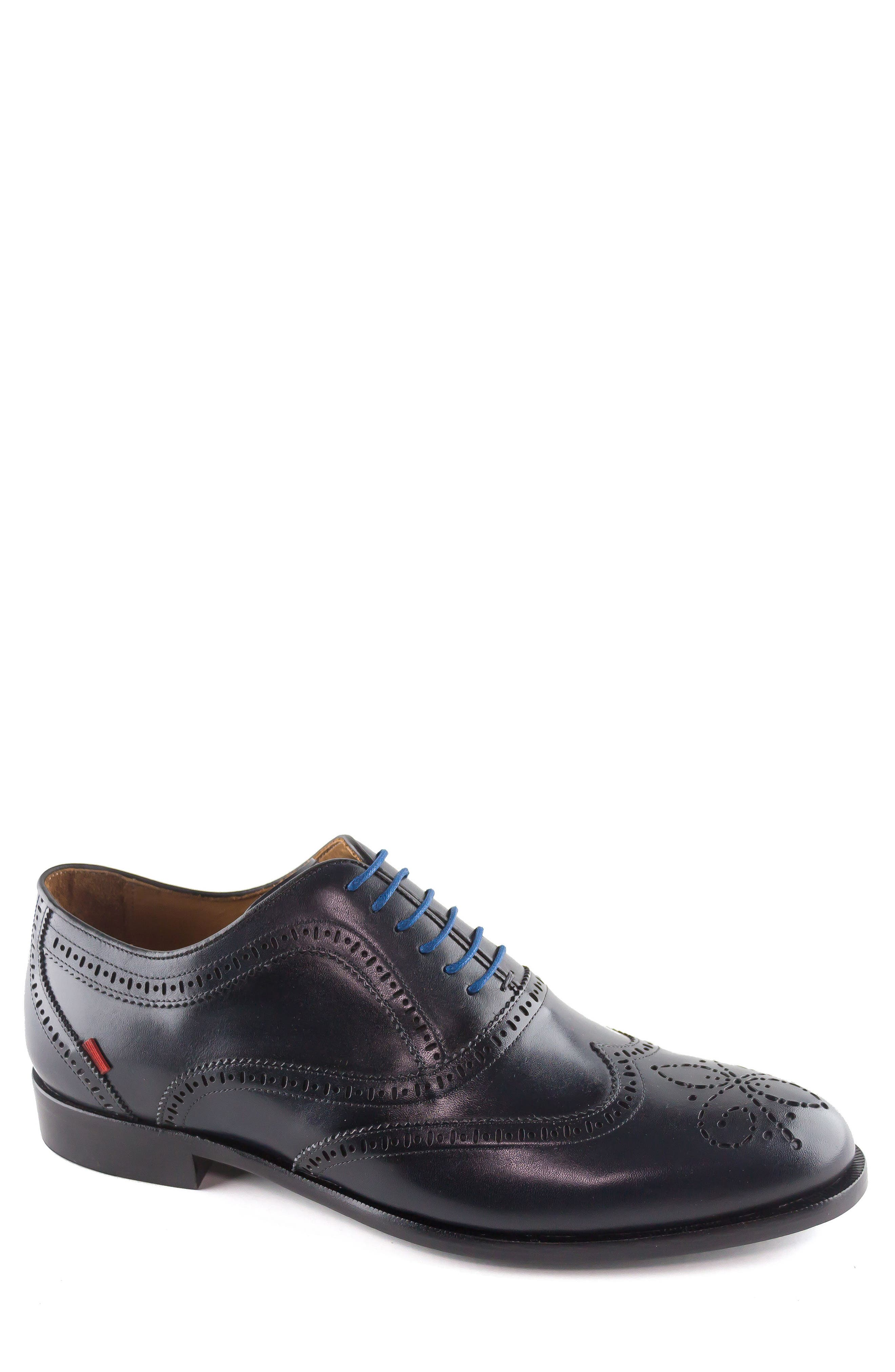 Madison Wingtip Oxford,                         Main,                         color, Navy
