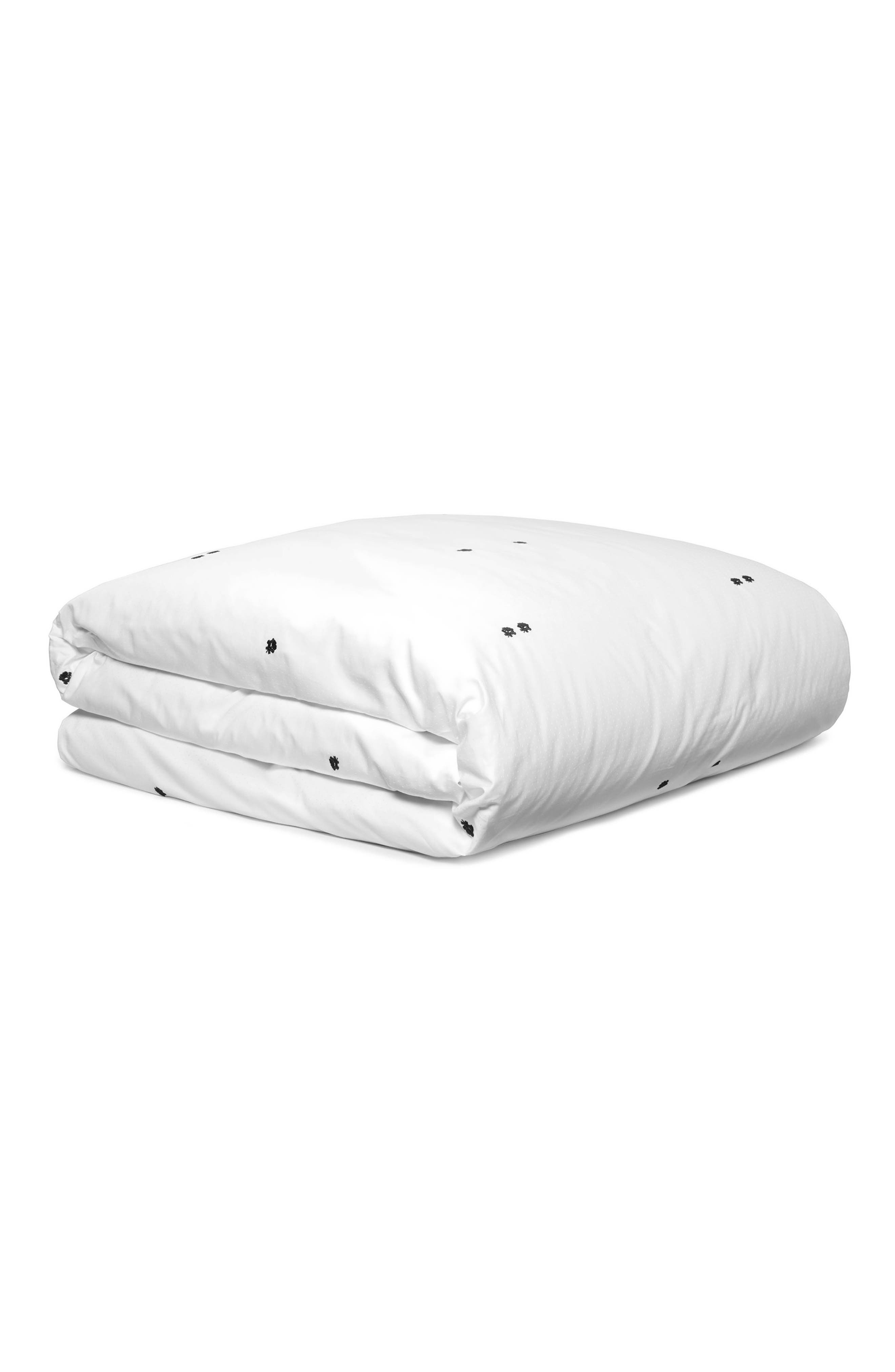 Clone Duvet Cover,                         Main,                         color, White