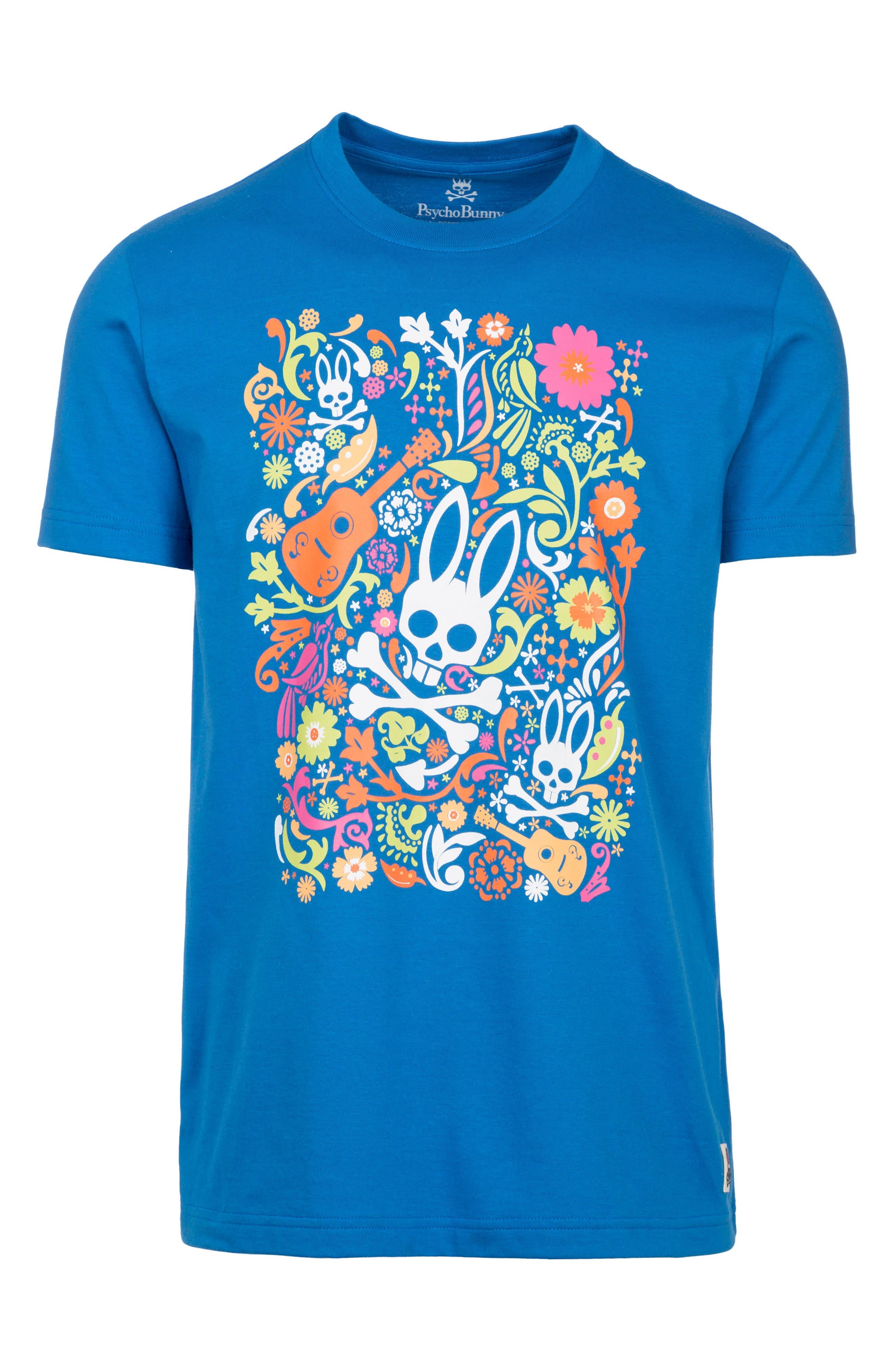 Alternate Image 1 Selected - Psycho Bunny Graphic T-Shirt (Little Boys & Big Boys)