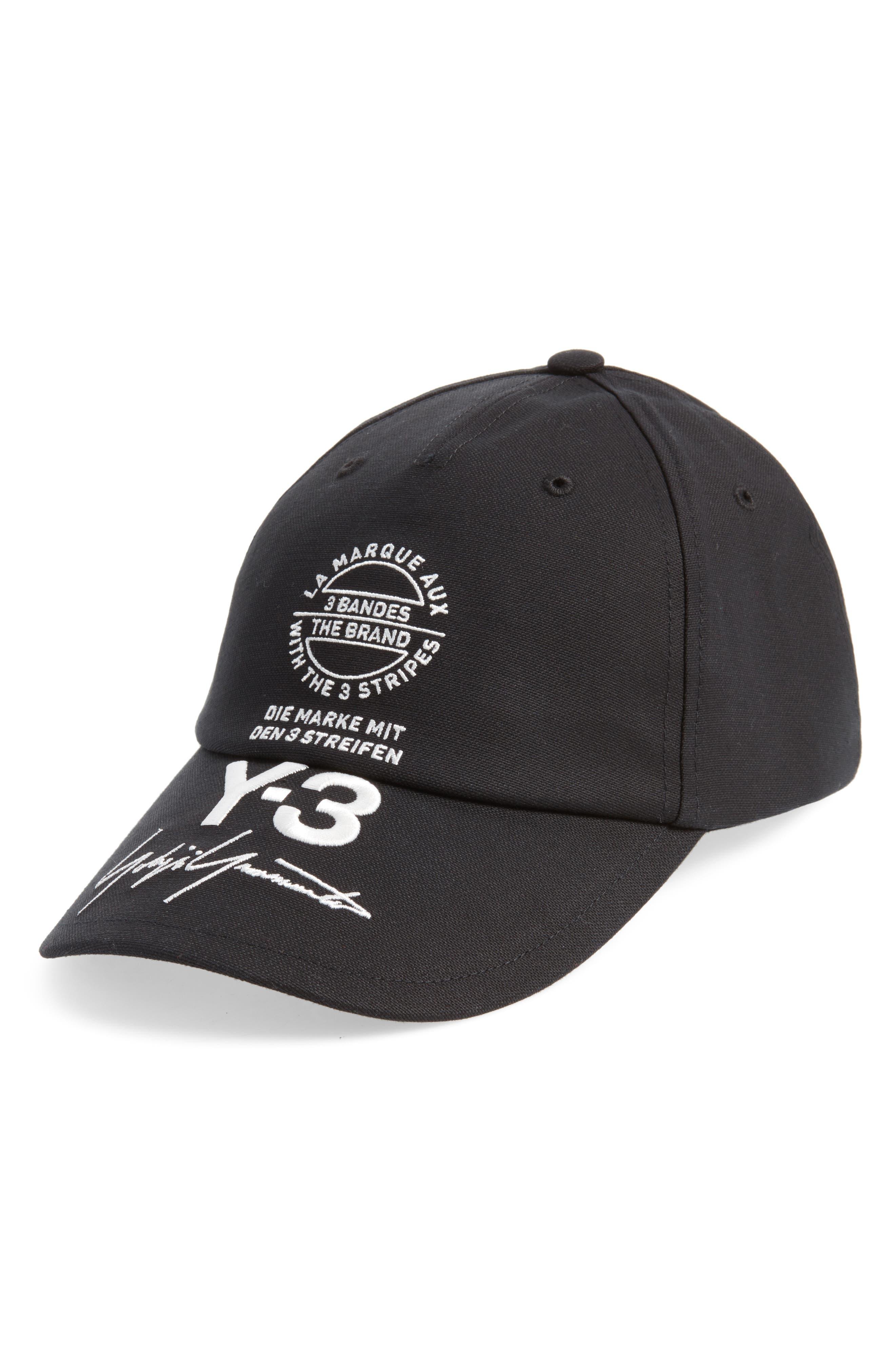 Y-3 Logo Cap
