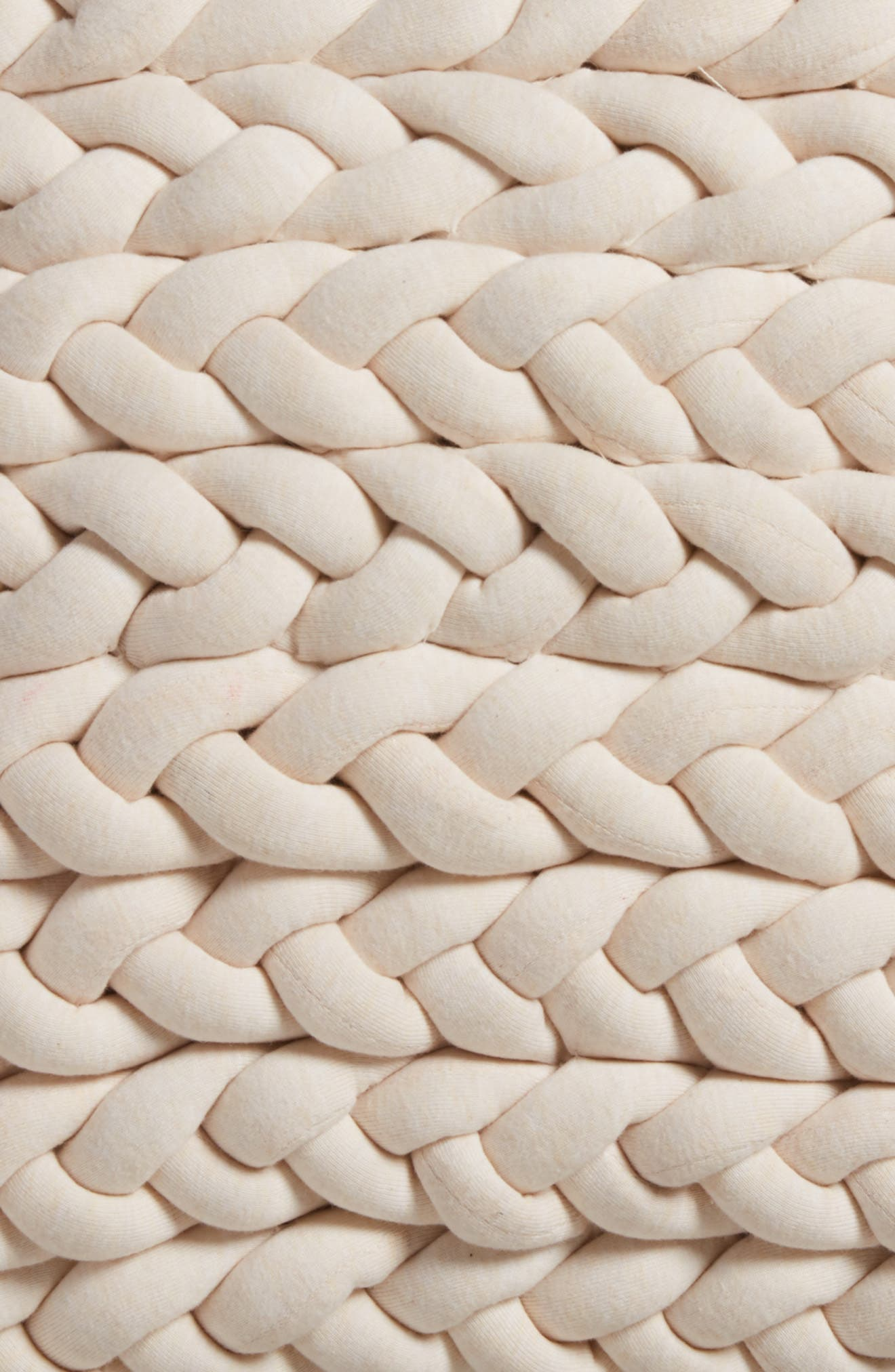 Alternate Image 3  - Treasure & Bond Jersey Braid Accent Pillow