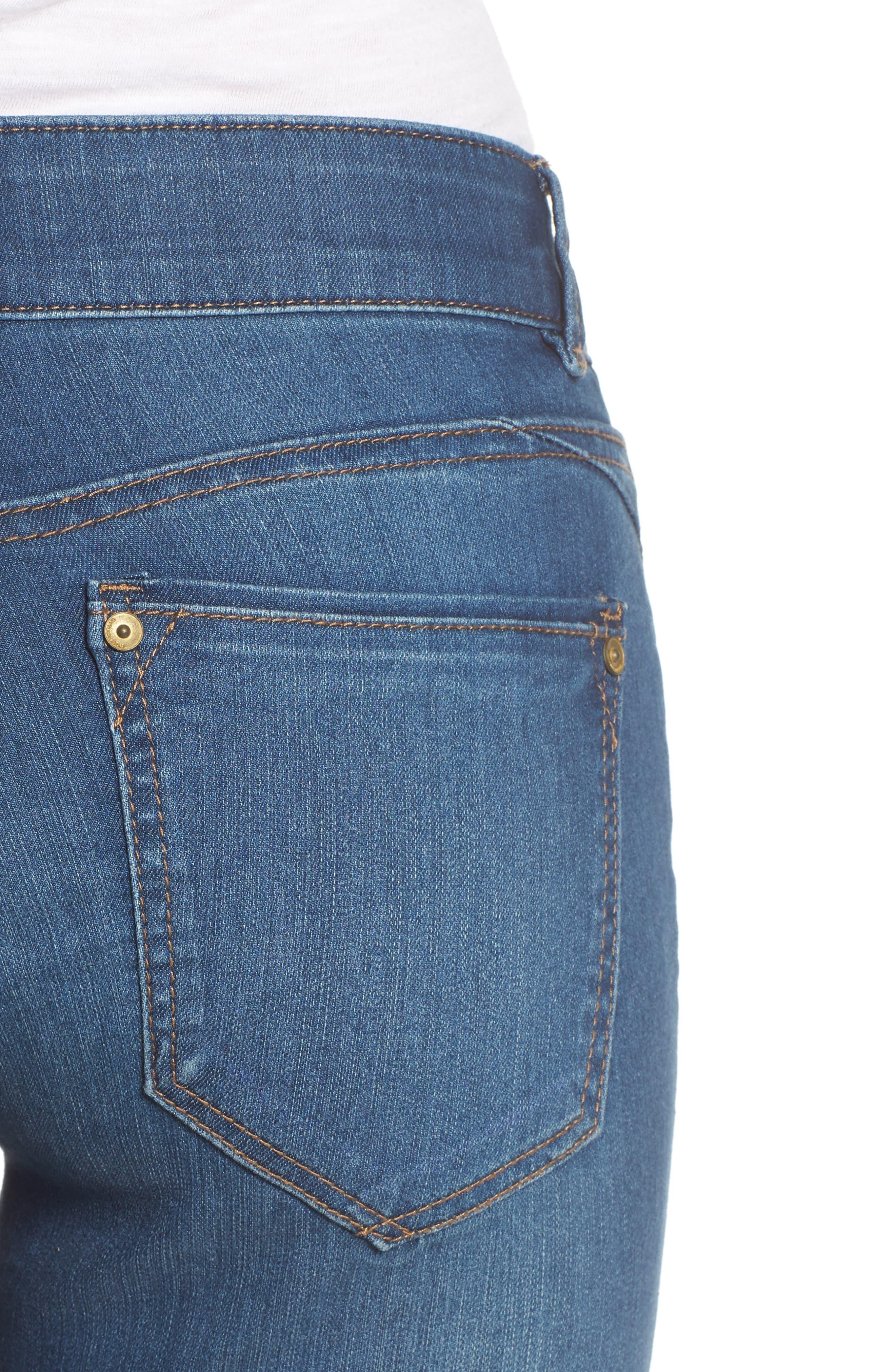 Alternate Image 4  - Wit & Wisdom Ab-solution Ankle Skimmer Jeans (Nordstrom Exclusive)