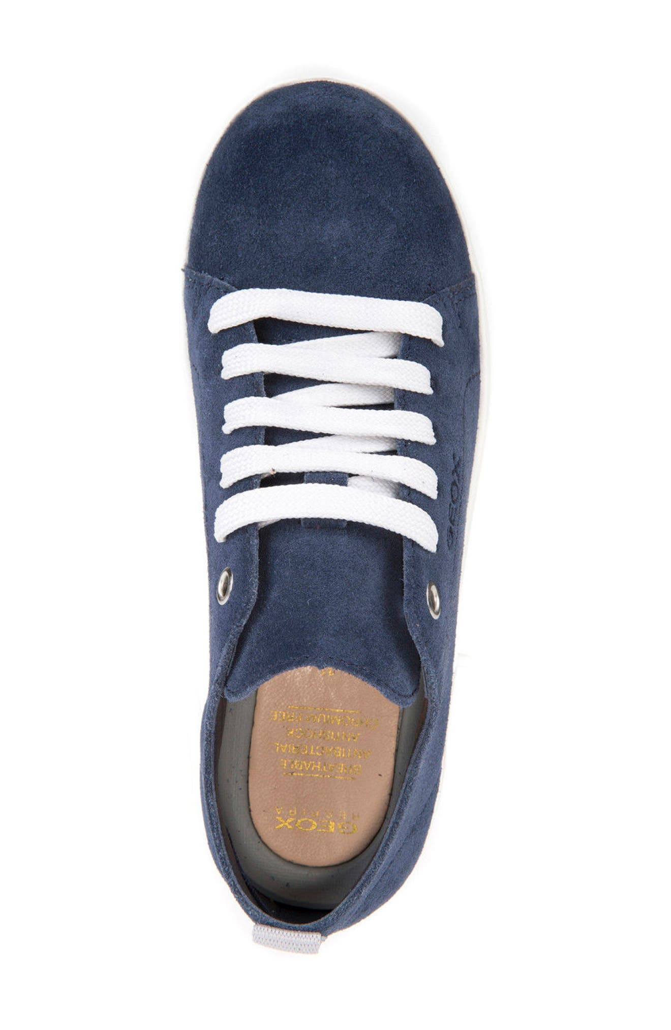 Anthor Low Top Sneaker,                             Alternate thumbnail 4, color,                             Navy