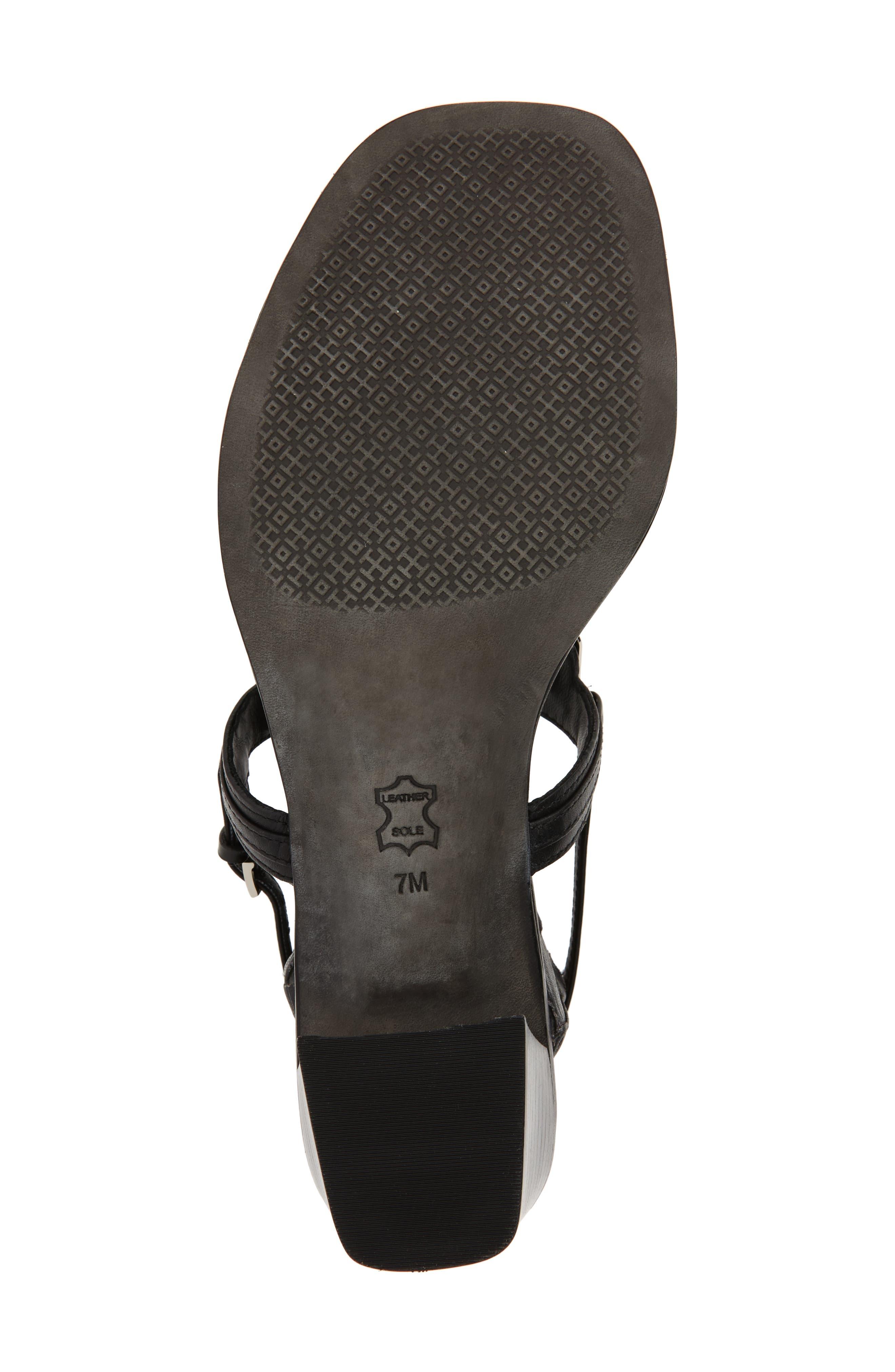 Thompson Sandal,                             Alternate thumbnail 6, color,                             Perfect Black