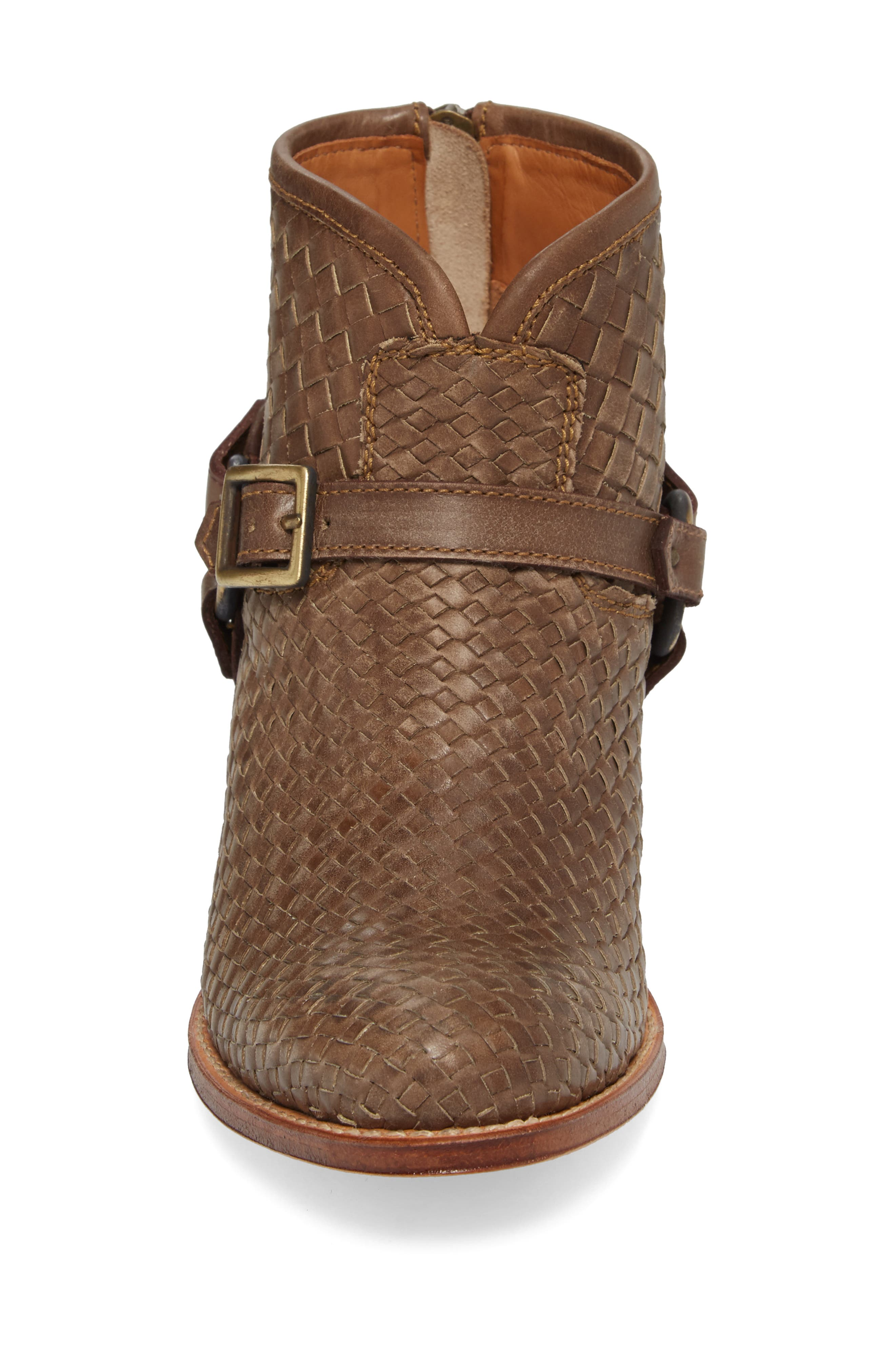 Two24 by Ariat Sollana Bootie,                             Alternate thumbnail 4, color,                             Brown Leather