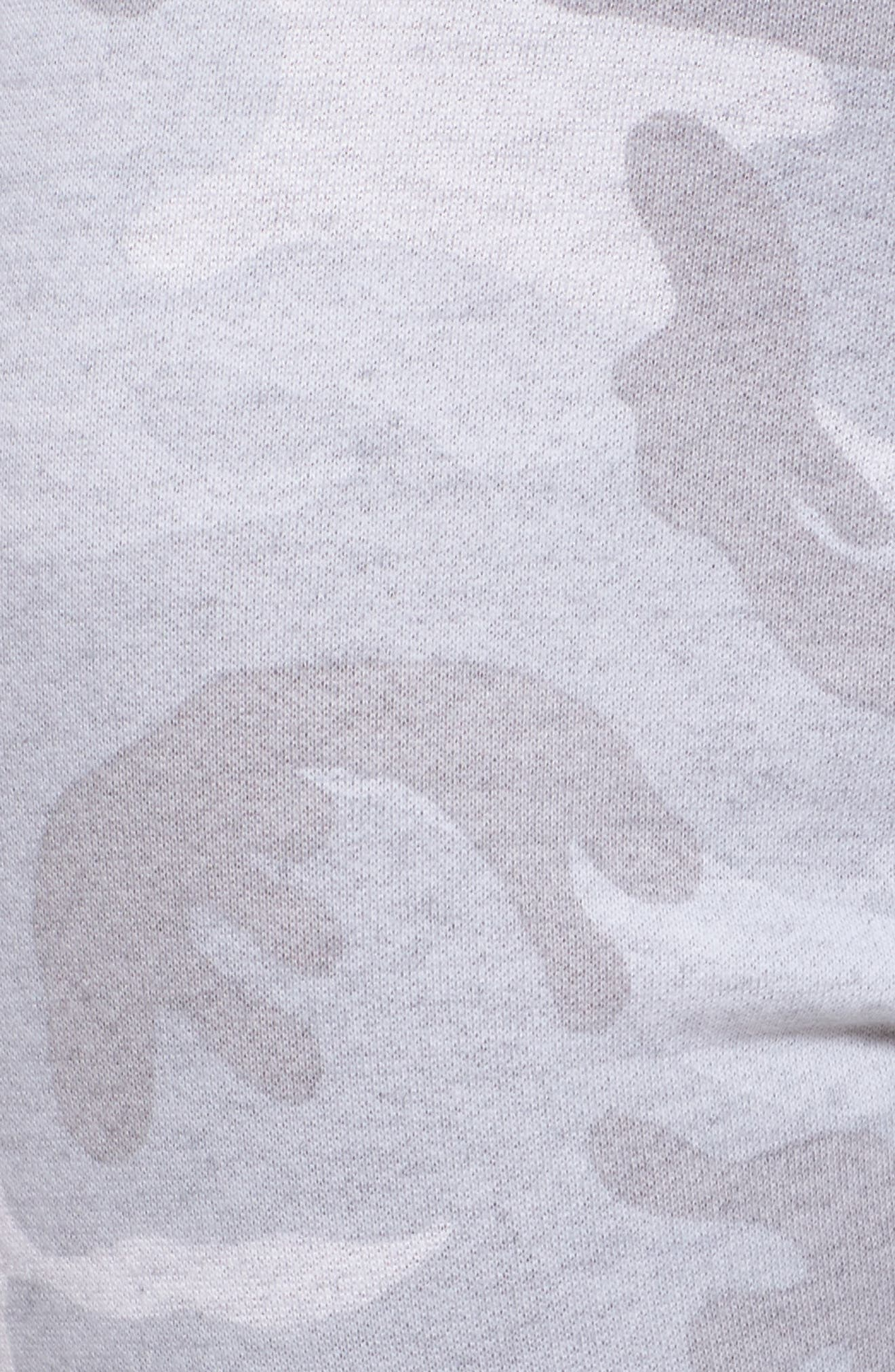Campbell Vintage Jogger Pants,                             Alternate thumbnail 7, color,                             Light Grey Camo