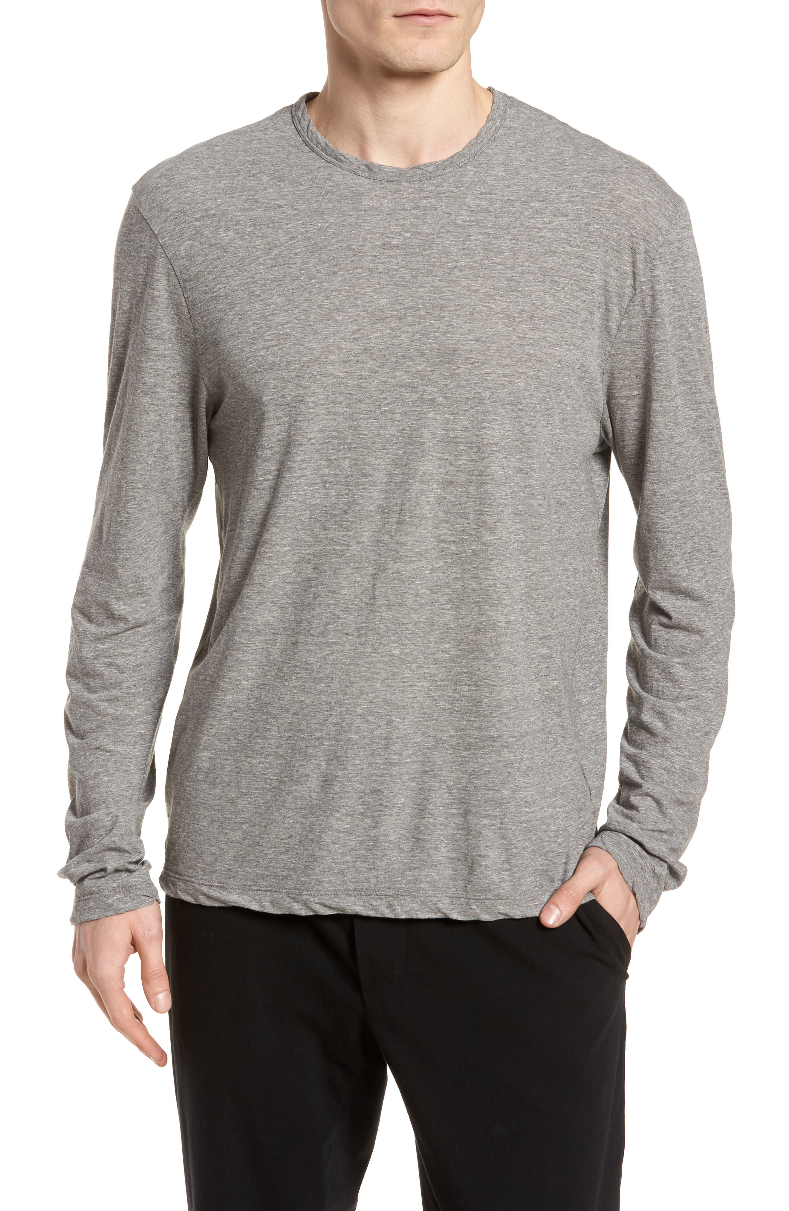 Jamers Perse High Twist Regular Fit Shirt,                             Main thumbnail 1, color,                             Heather Grey