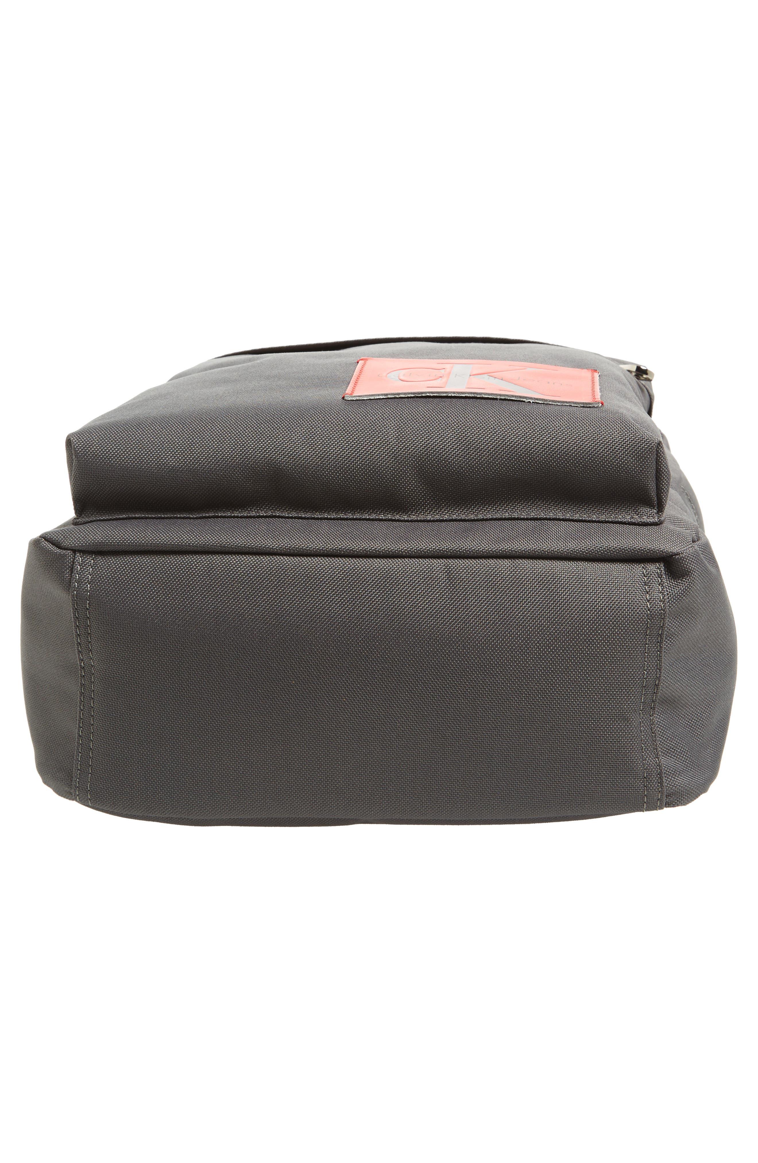 Slim Square Backpack,                             Alternate thumbnail 6, color,                             Charcoal