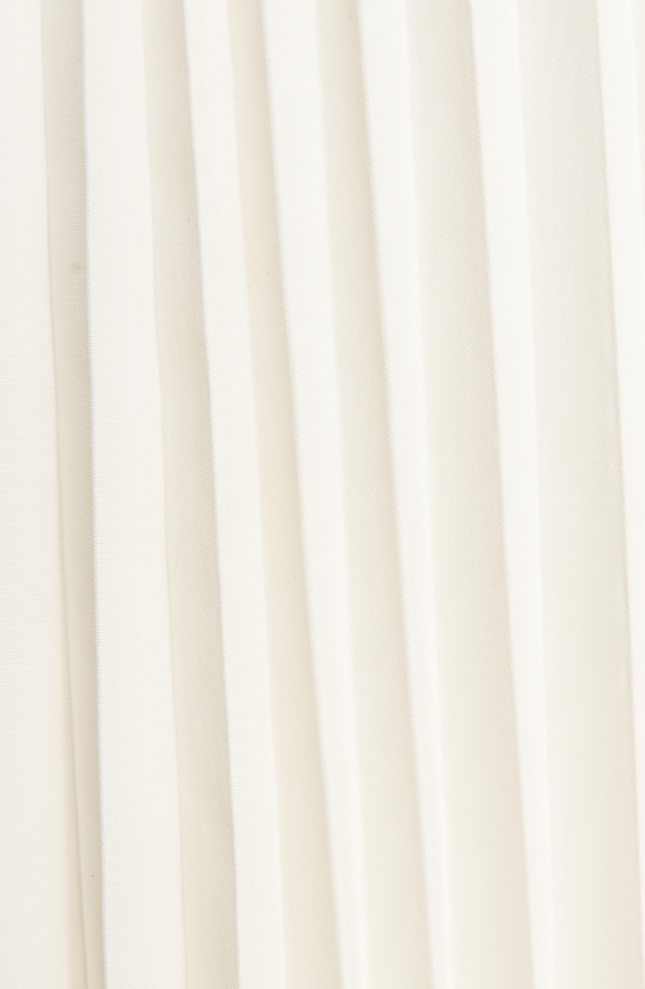 Alternate Image 6  - Toga Pleated Keyhole Skirt