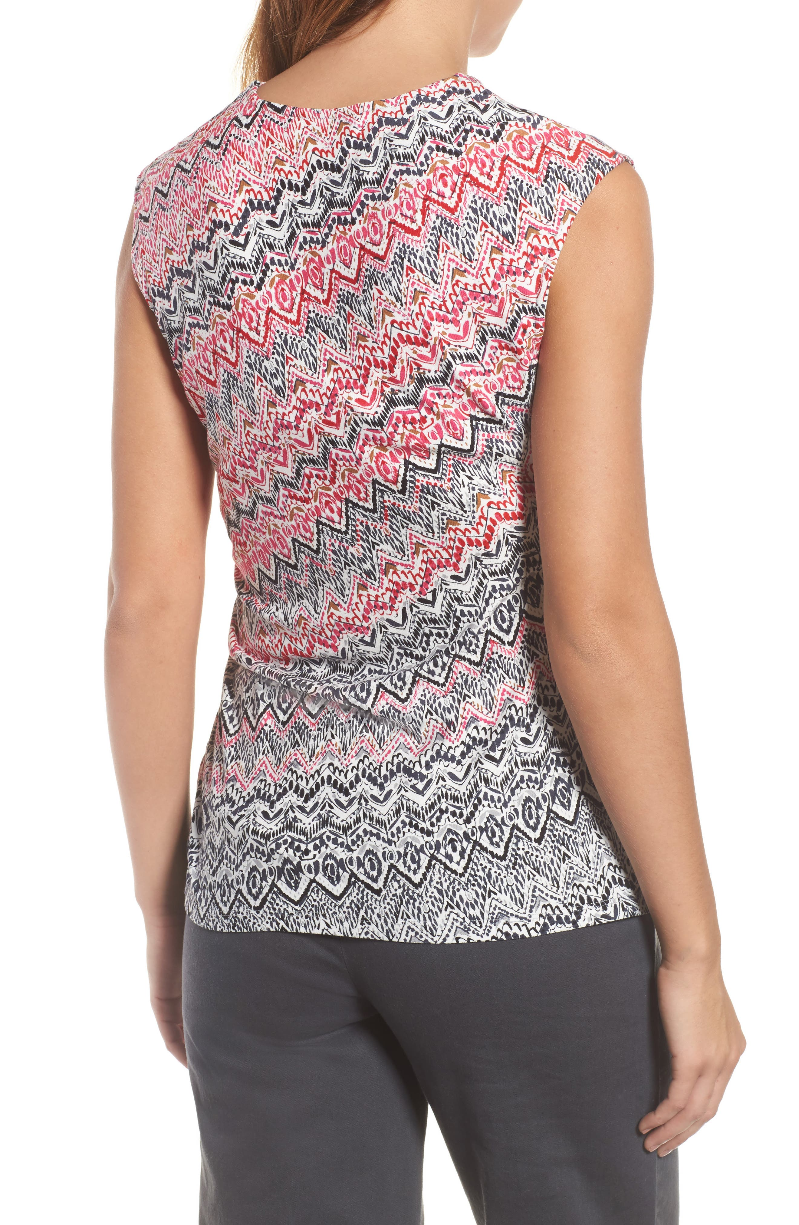 Spiced Up Ruched Tank,                             Alternate thumbnail 2, color,                             Multi