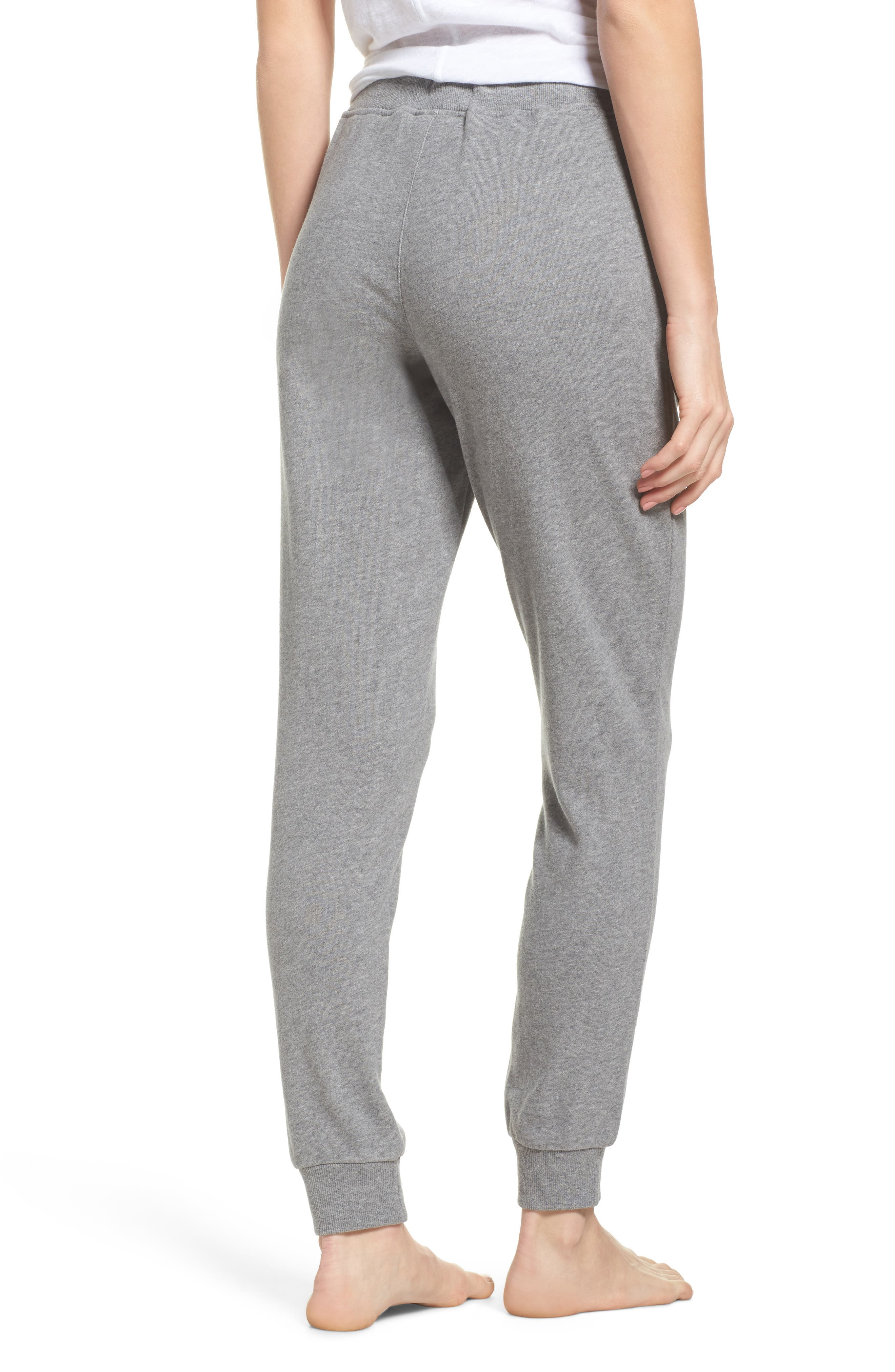 Babe Jogger Pants,                             Alternate thumbnail 2, color,                             Heather Grey