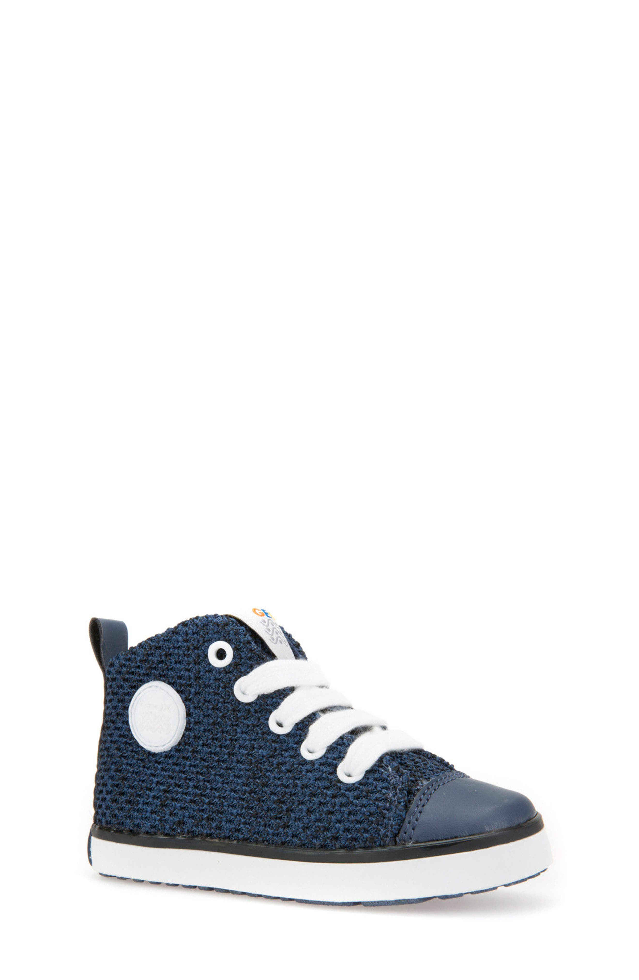 Kilwi Knit High Top Sneaker,                             Main thumbnail 1, color,                             Navy