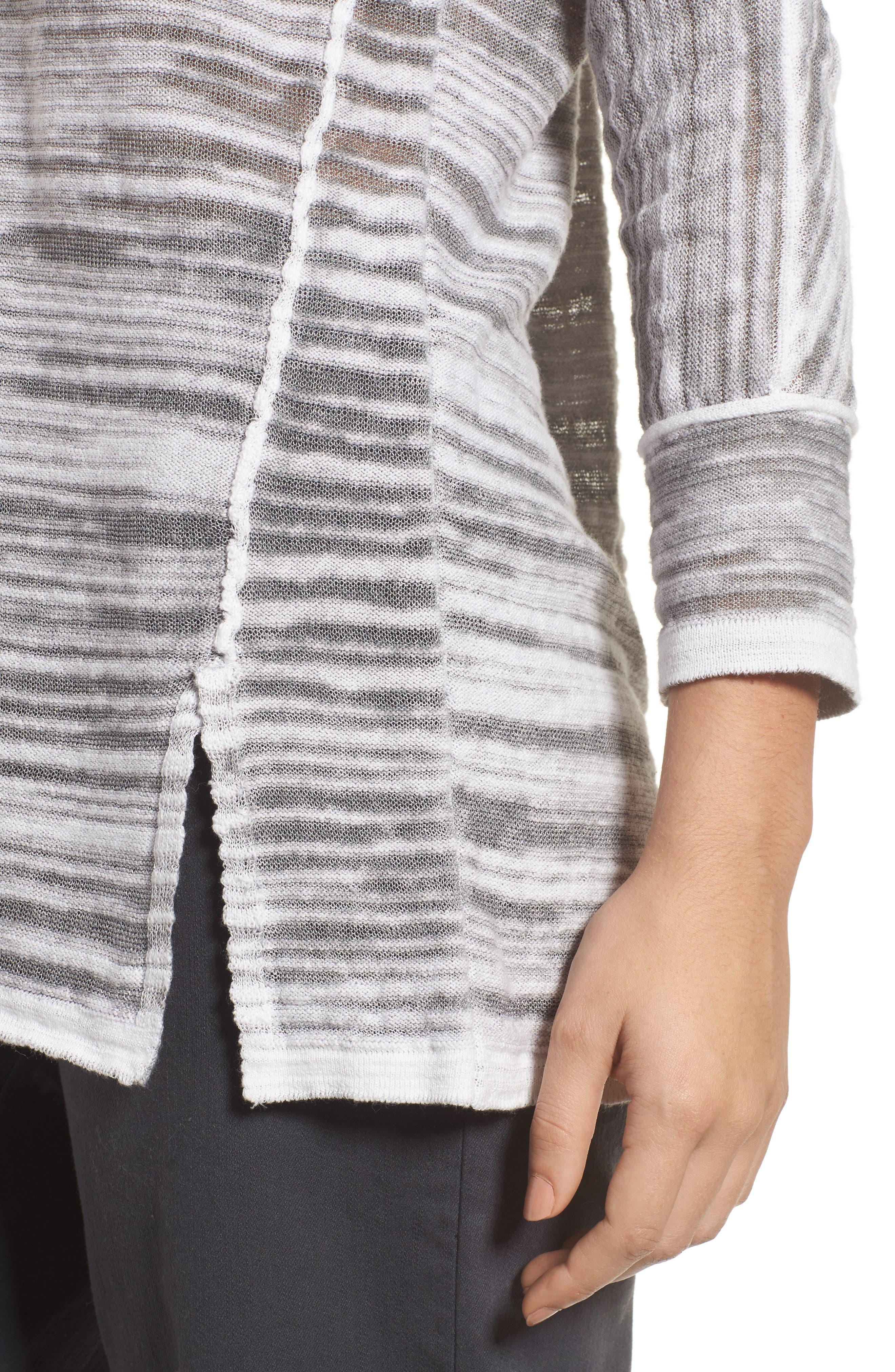 Sand Dunes Sweater,                             Alternate thumbnail 4, color,                             Zinc