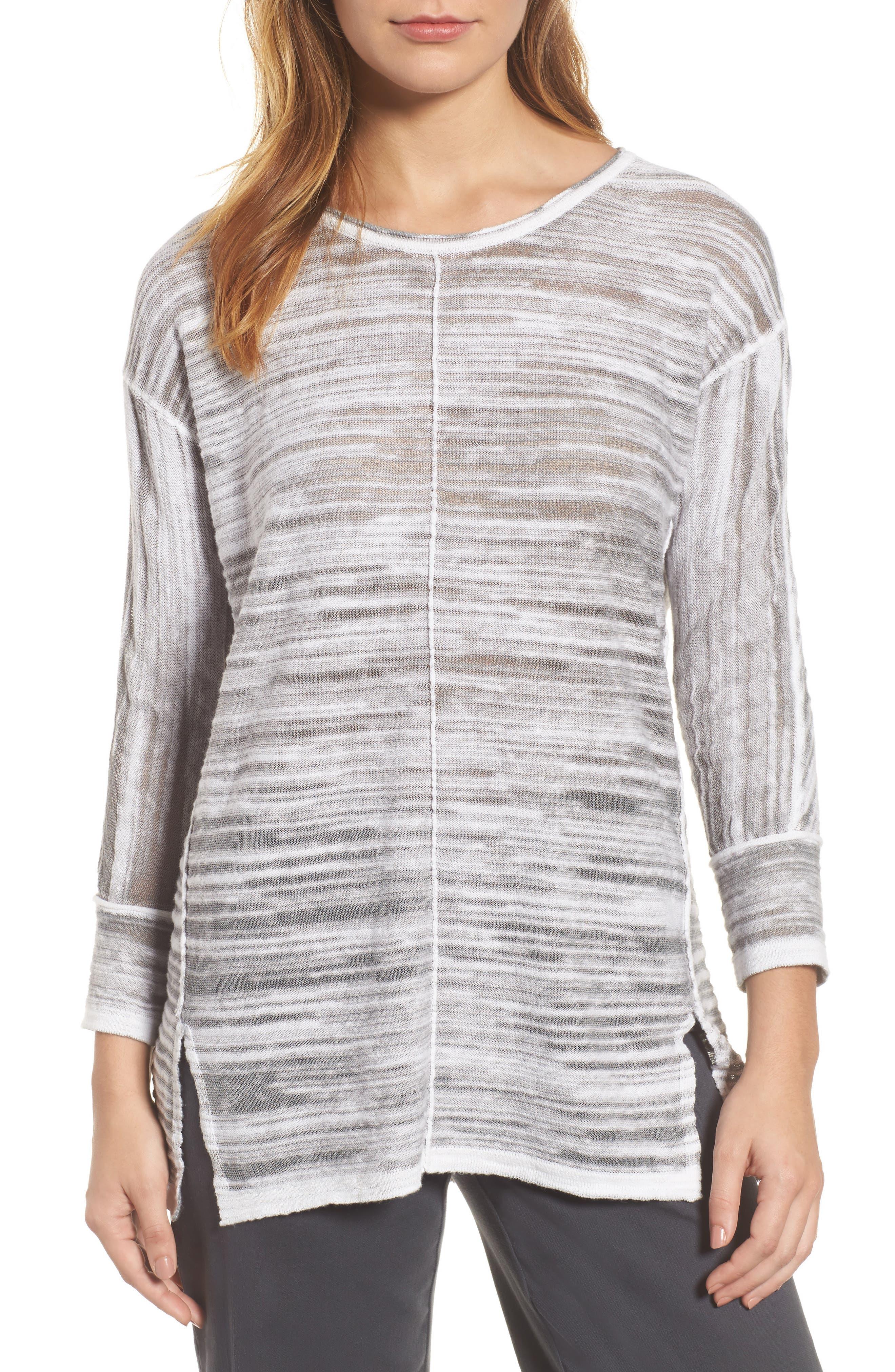 Sand Dunes Sweater,                         Main,                         color, Zinc