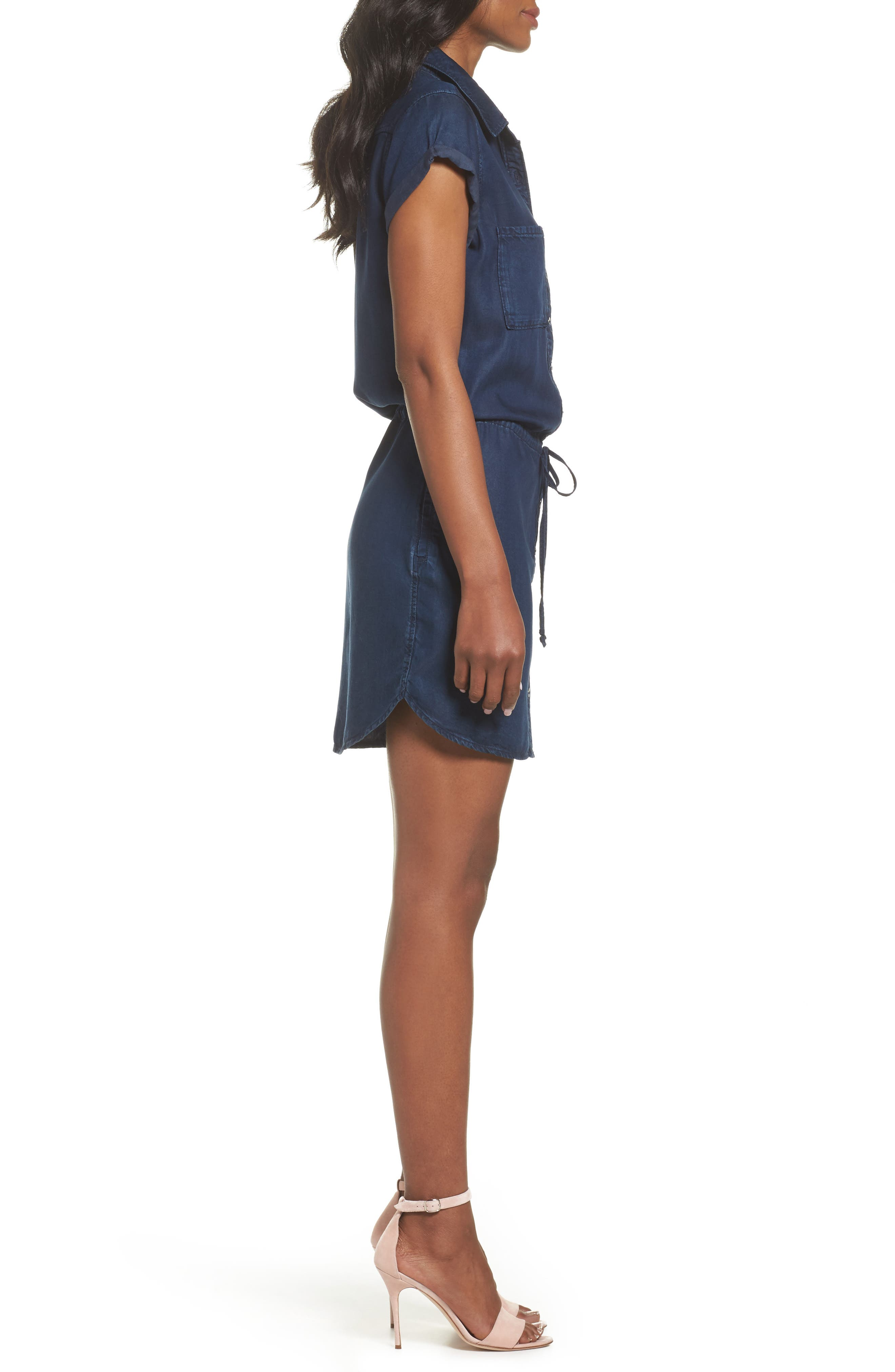 Alternate Image 3  - PAIGE Mila Shirtdress