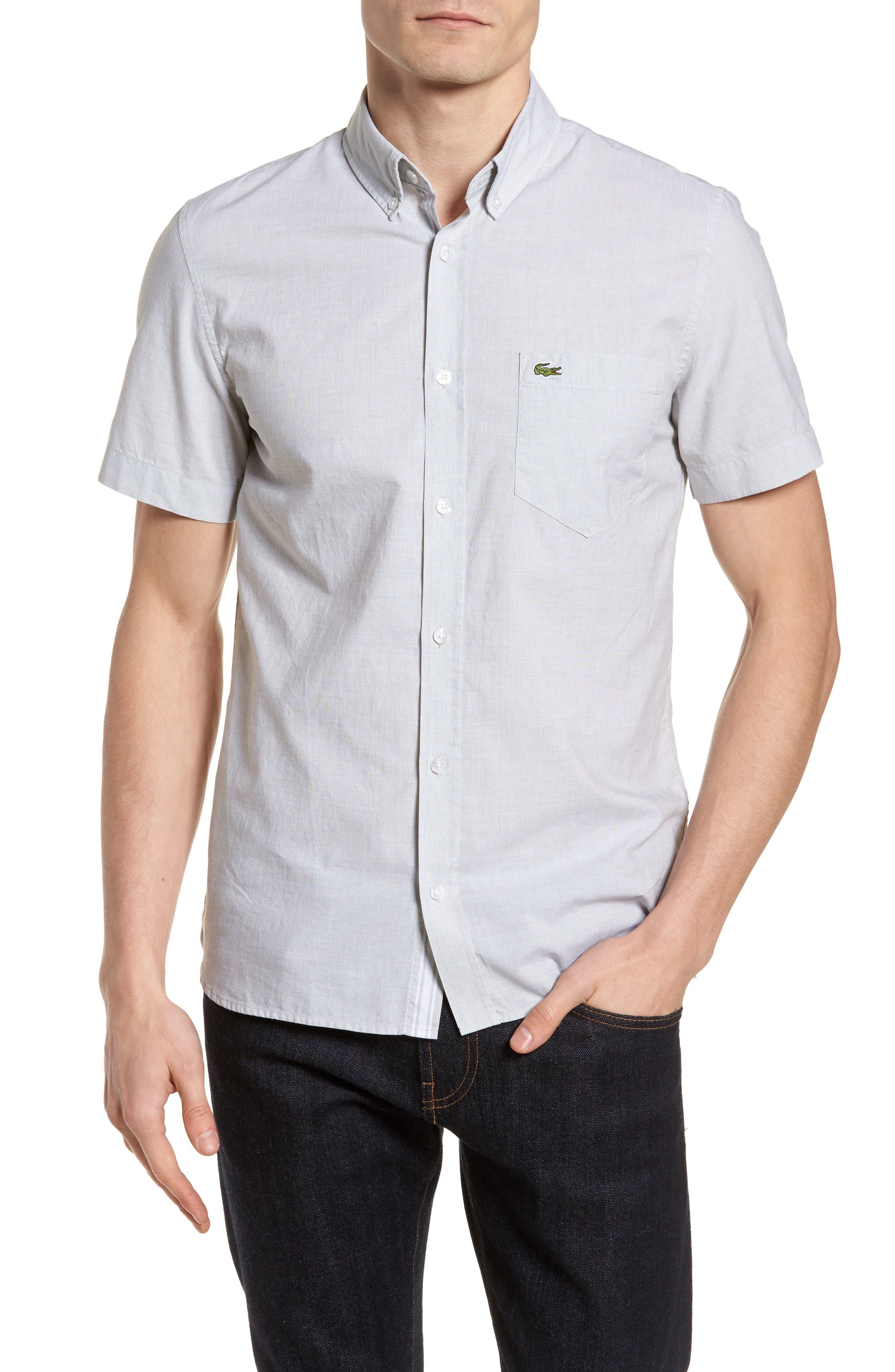 Alternate Image 1 Selected - Lacoste Slim Fit Sport Shirt
